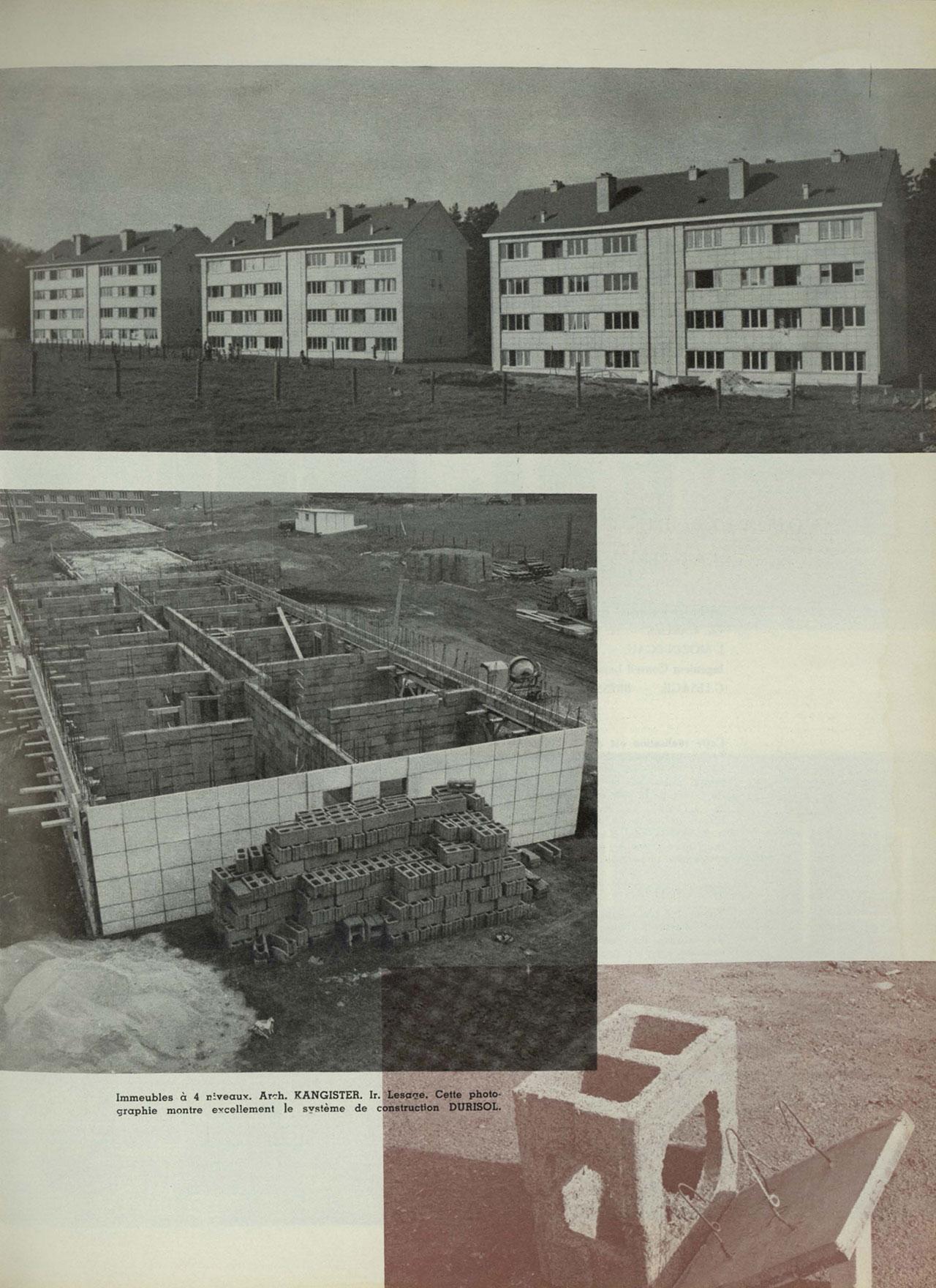 Durisol, les cités urbanisées de Seraing