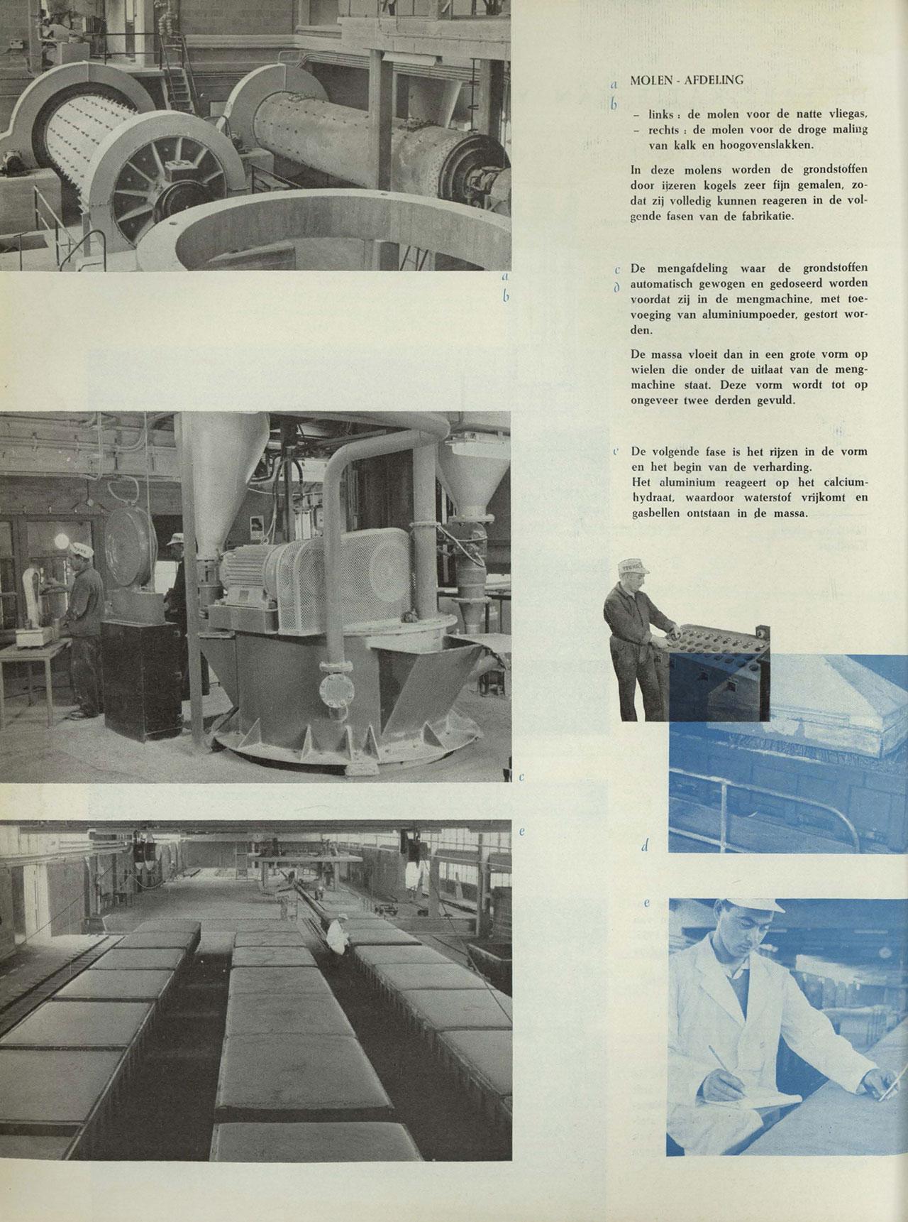 De fabrikatie van Ytong