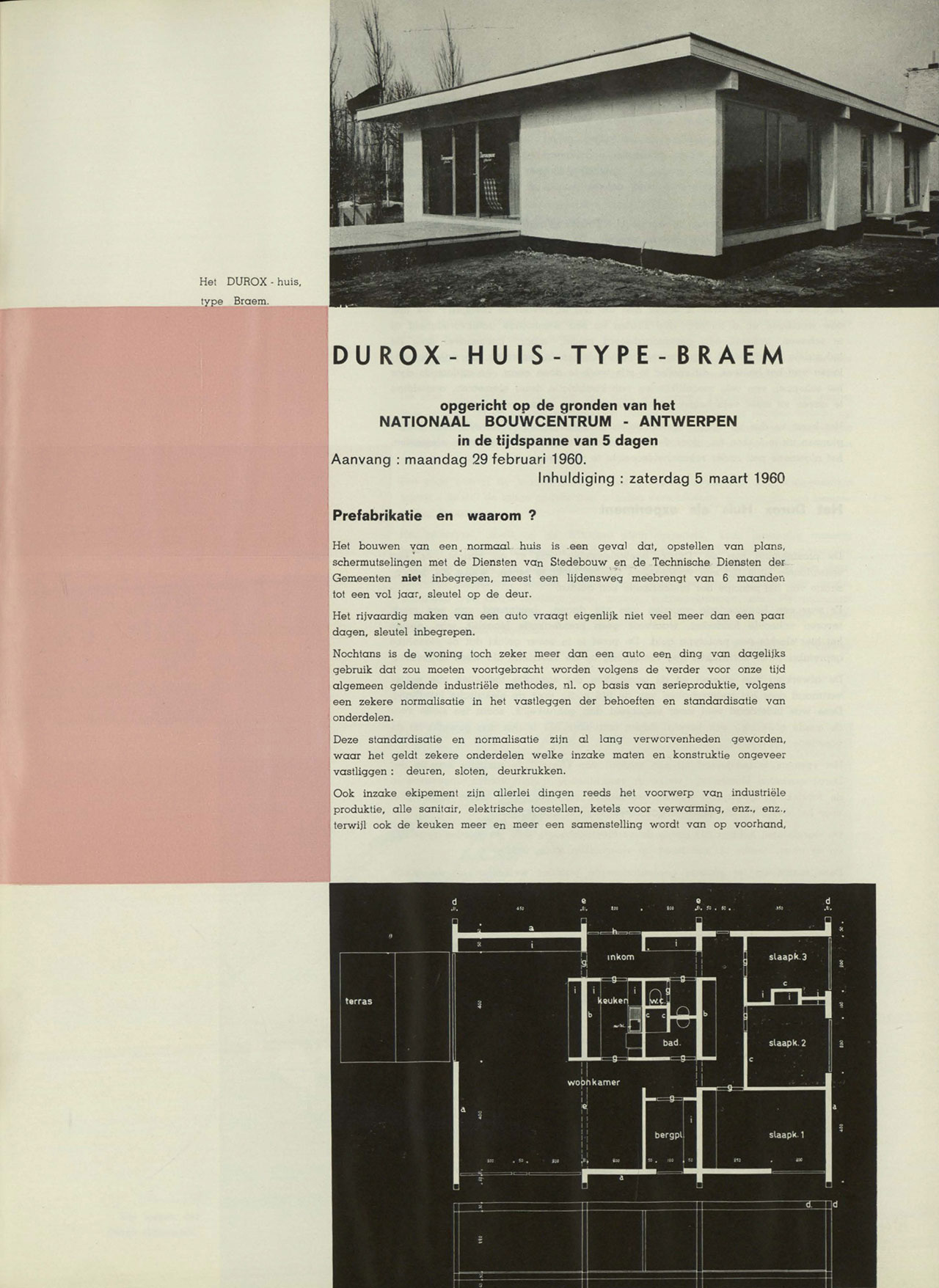 Durox huis – type Braem