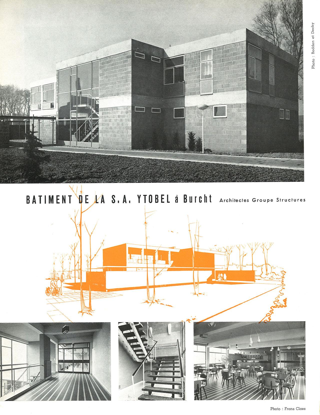 Bâtiment de la S.A. Ytobel à Burcht