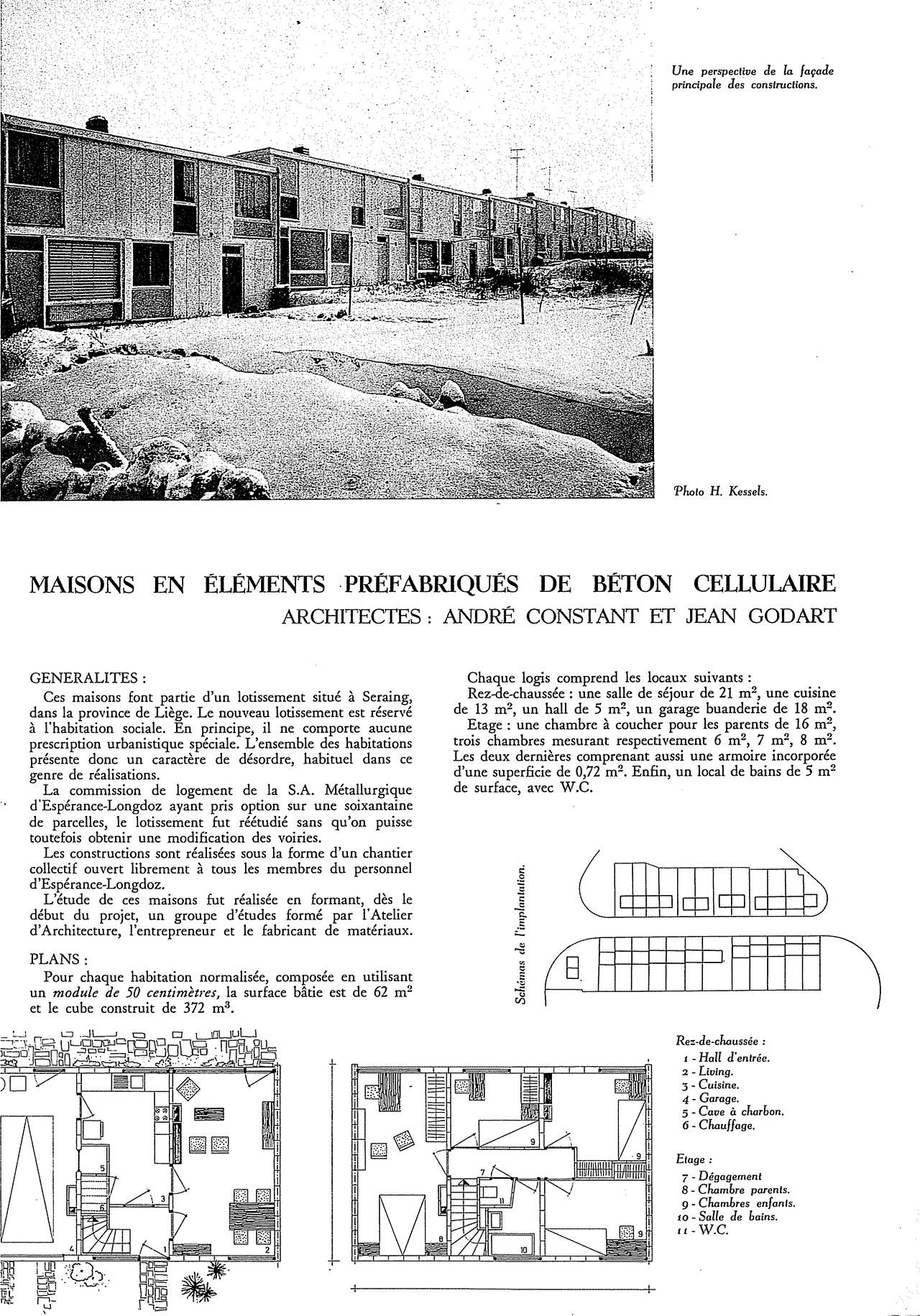 Maisons en l ments pr fabriqu s de b ton cellulaire - Maison en kit beton cellulaire ...