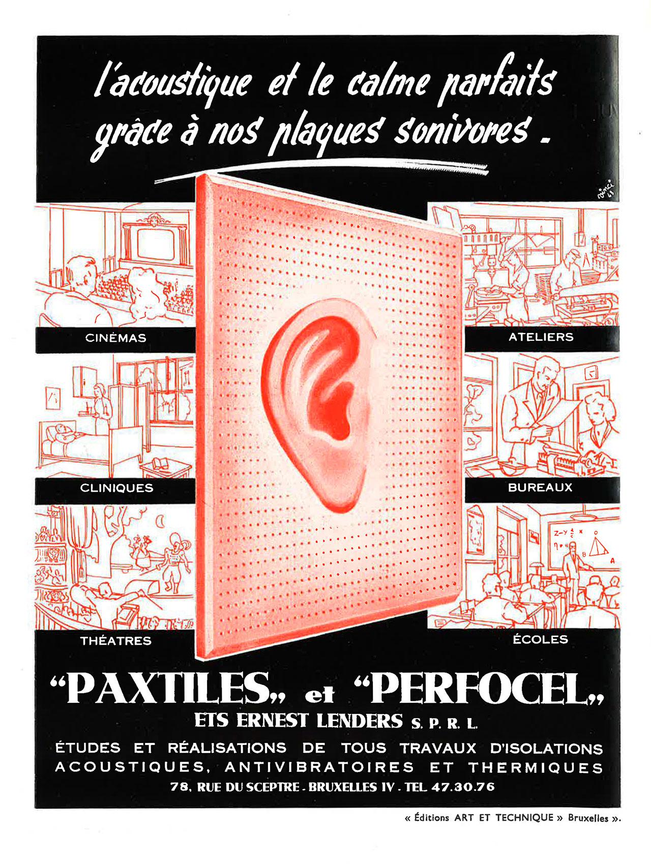 Paxtile, Perfocel