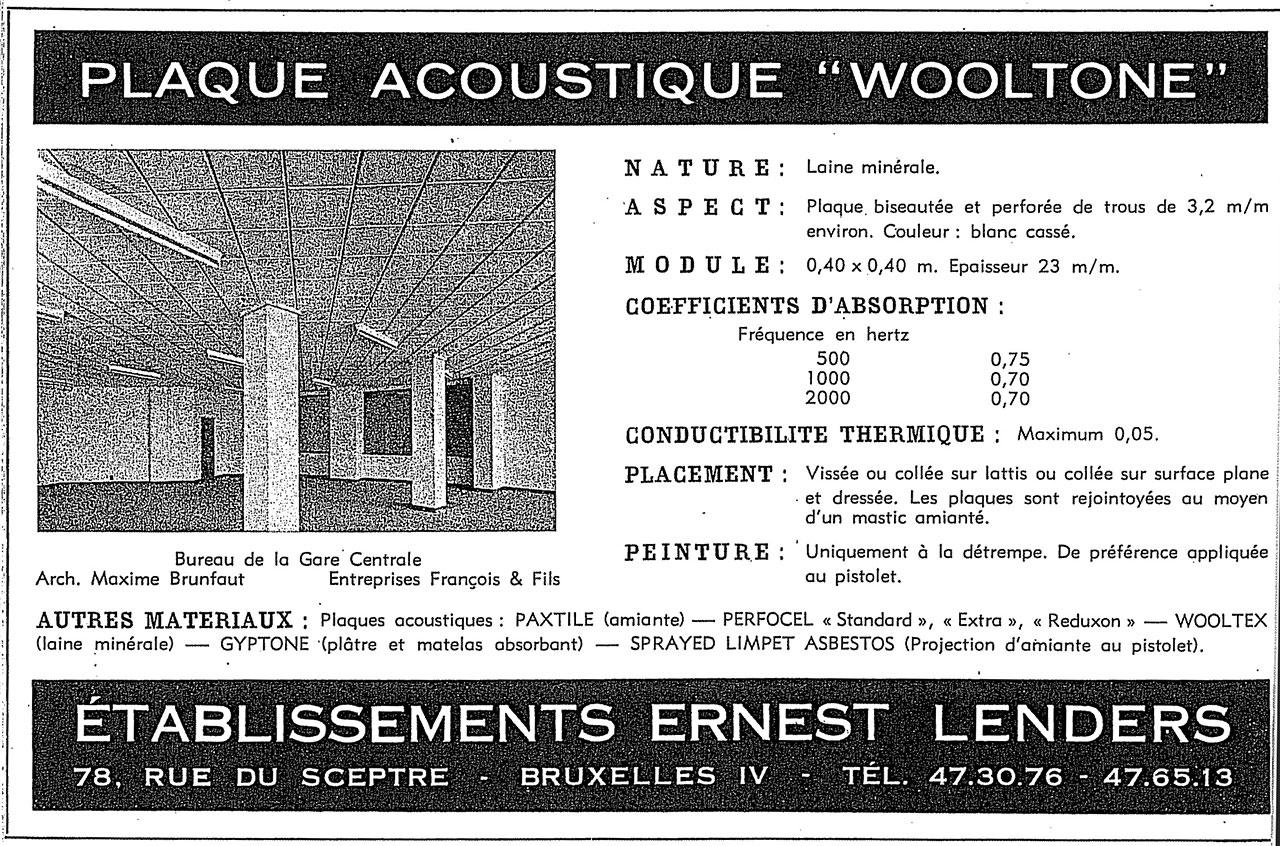 Plaques Acoustiques Wooltone