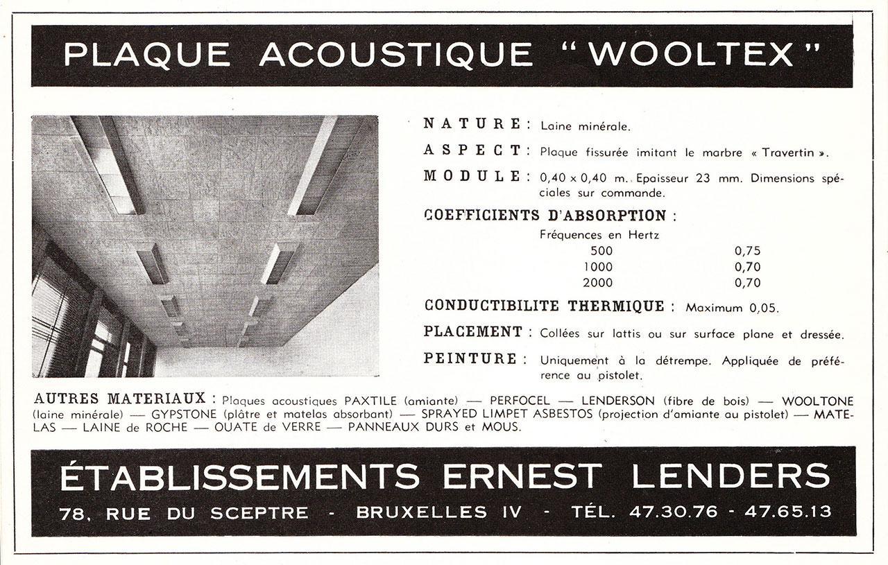 Plaques Acoustiques Wooltex