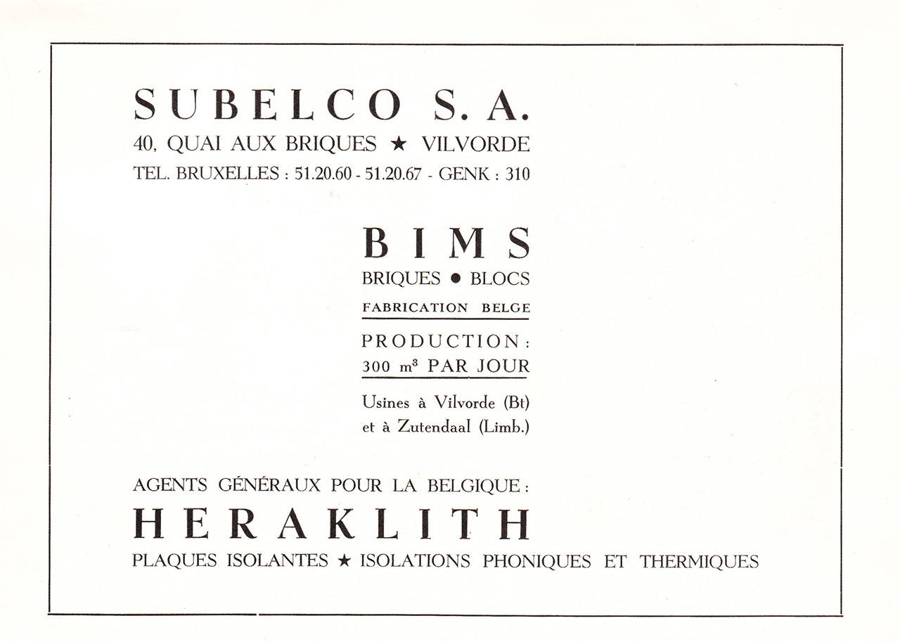 Bims, Briques, Blocs, Heraklith