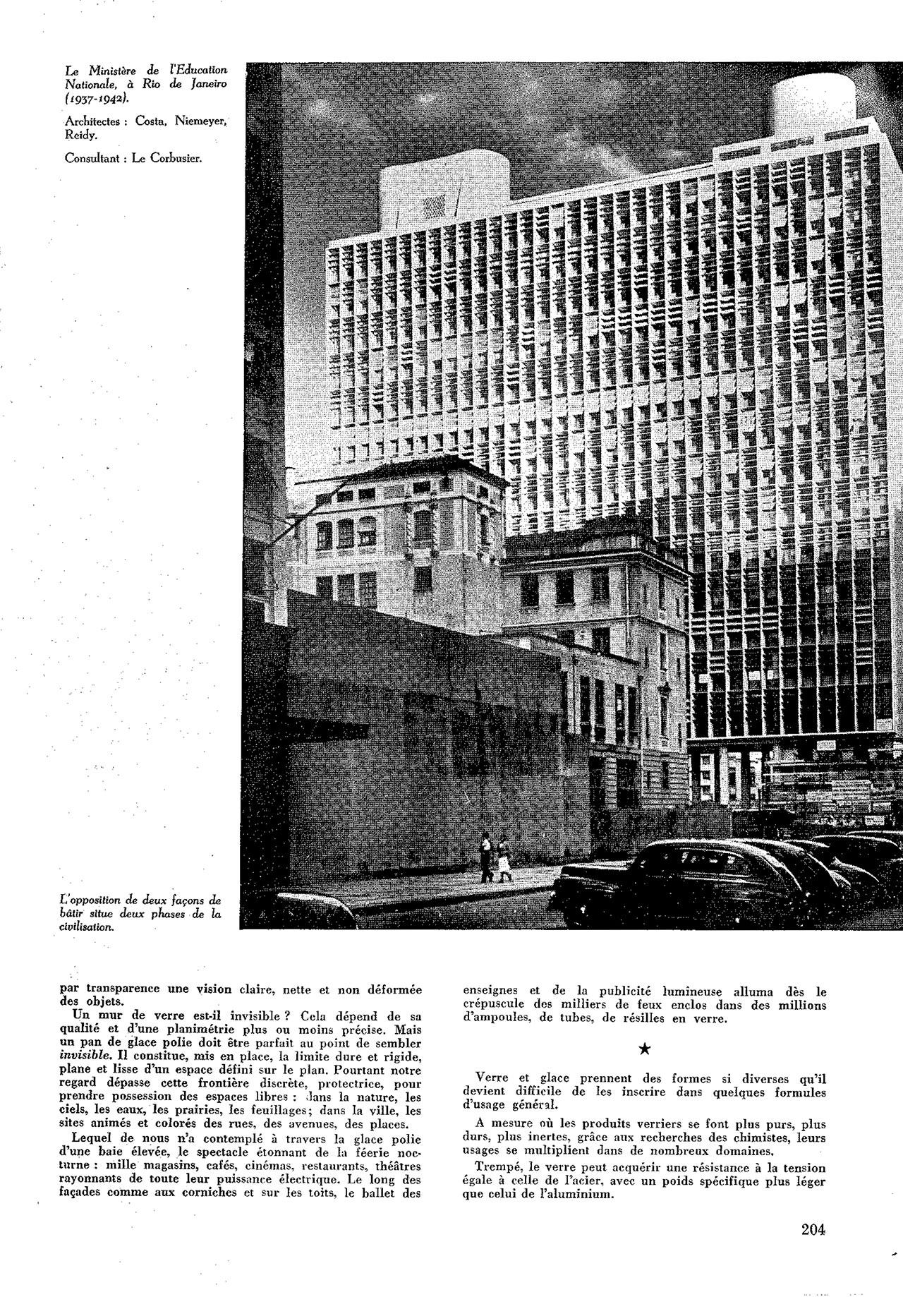 Le verre dans la construction et l'esthétique des bâtiments