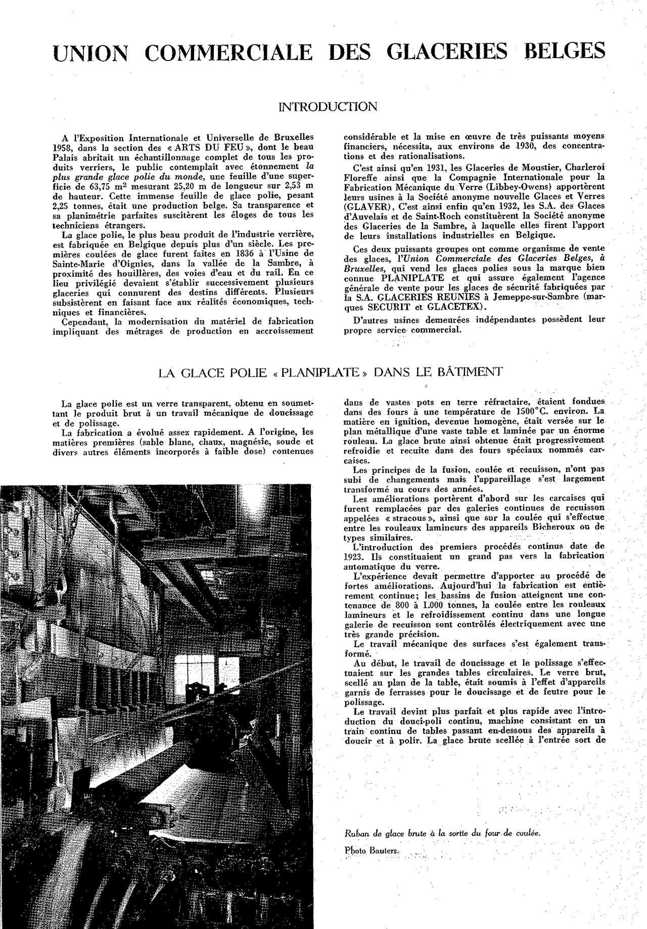 Union commerciale des glaceries belges