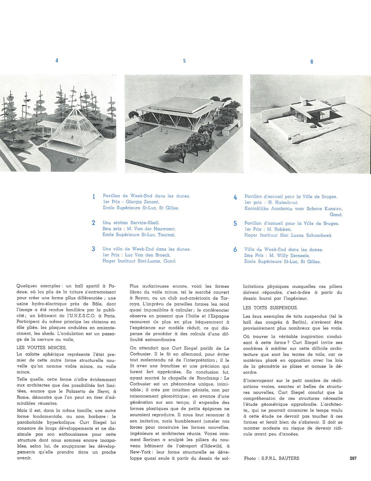 Le Prix Univerbel 1958-1959