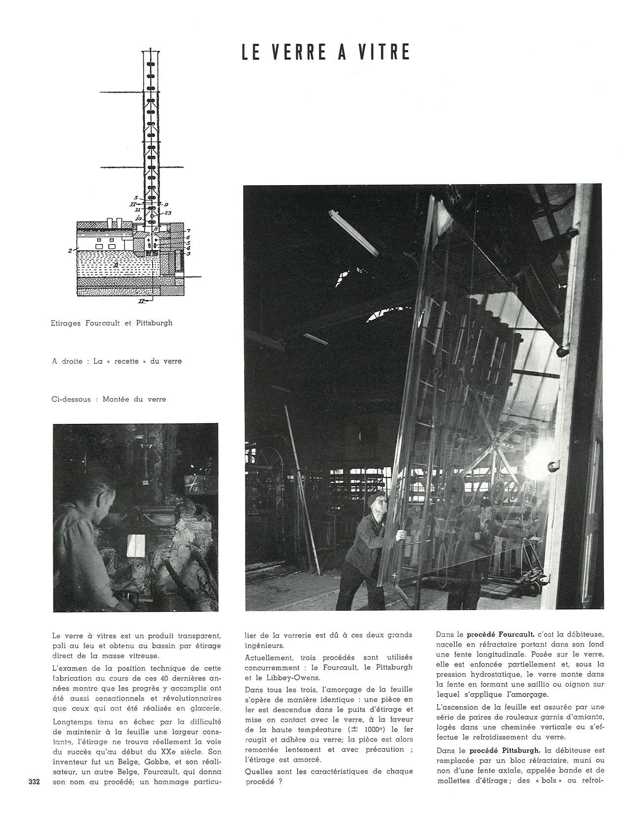 Utilisation du verre dans la construction