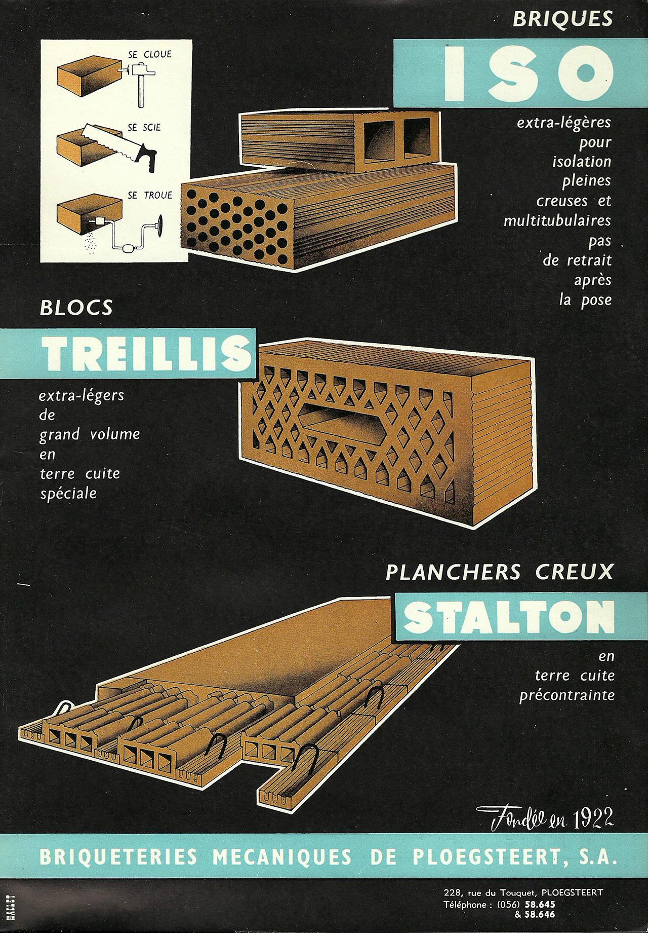 Blocs Treillis, Planchers Creux