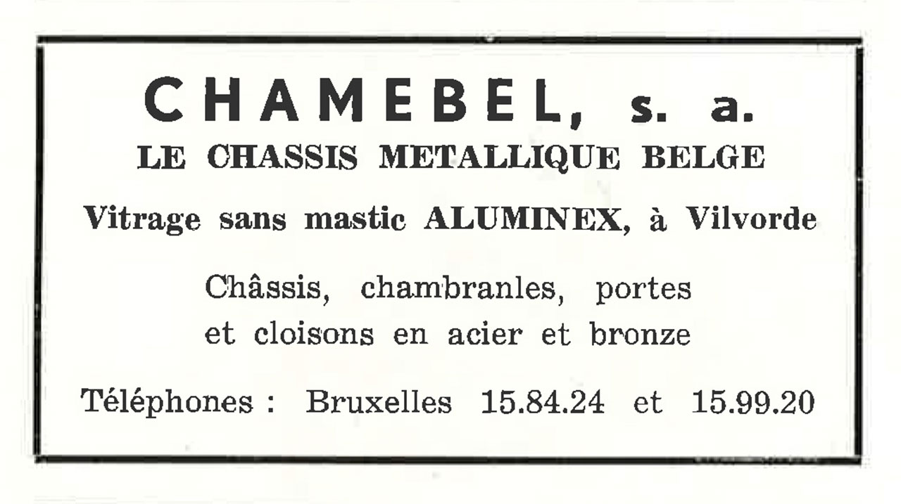 Châssis Métallique Belge