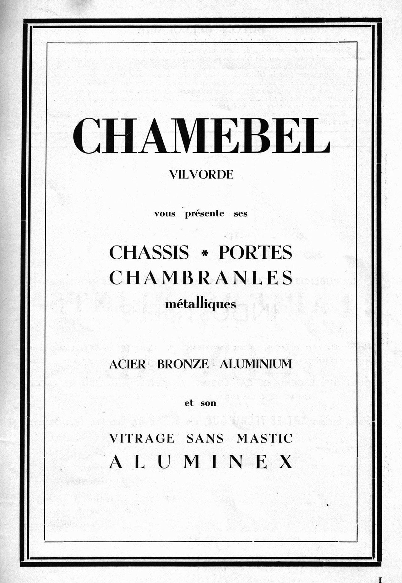 Châssis Et Aluminex