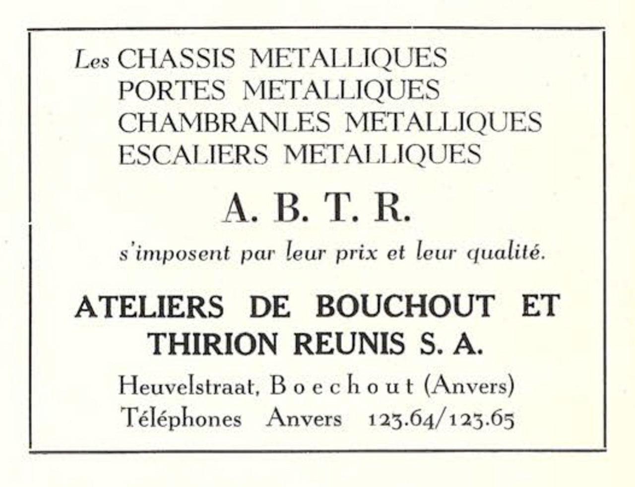 Châssis Métalliques A.B.T.R.
