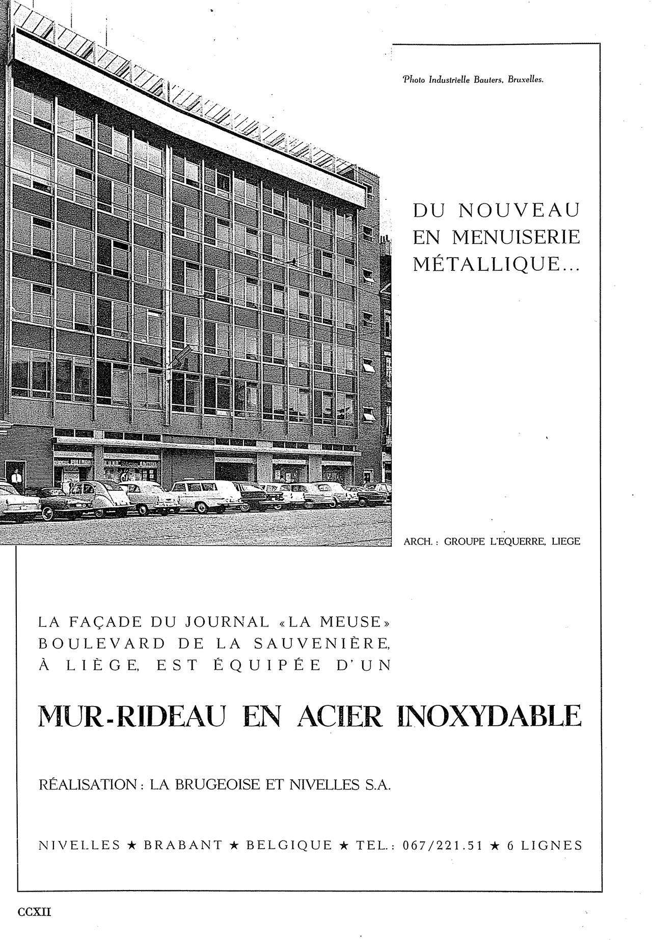 Mur-Rideau En Acier Inoxydable