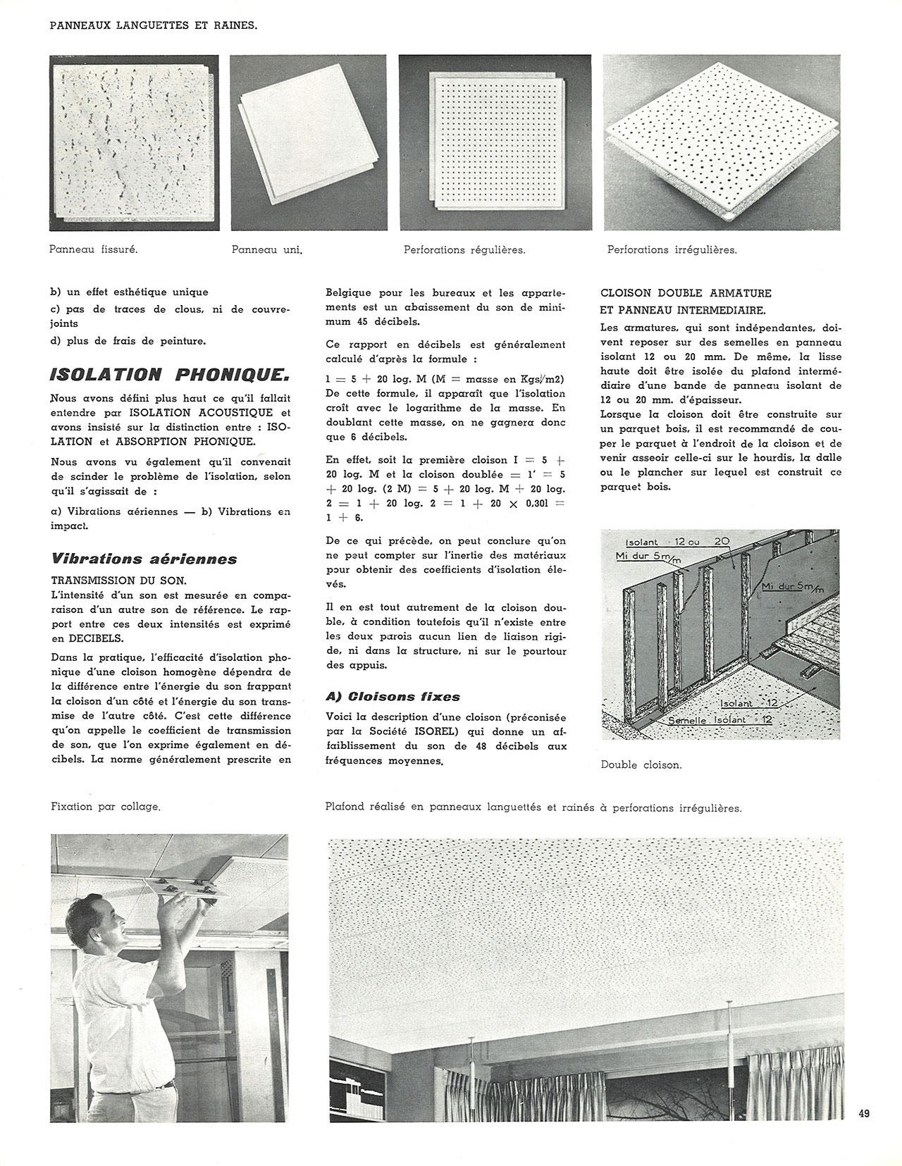 Le panneau en fibre de bois