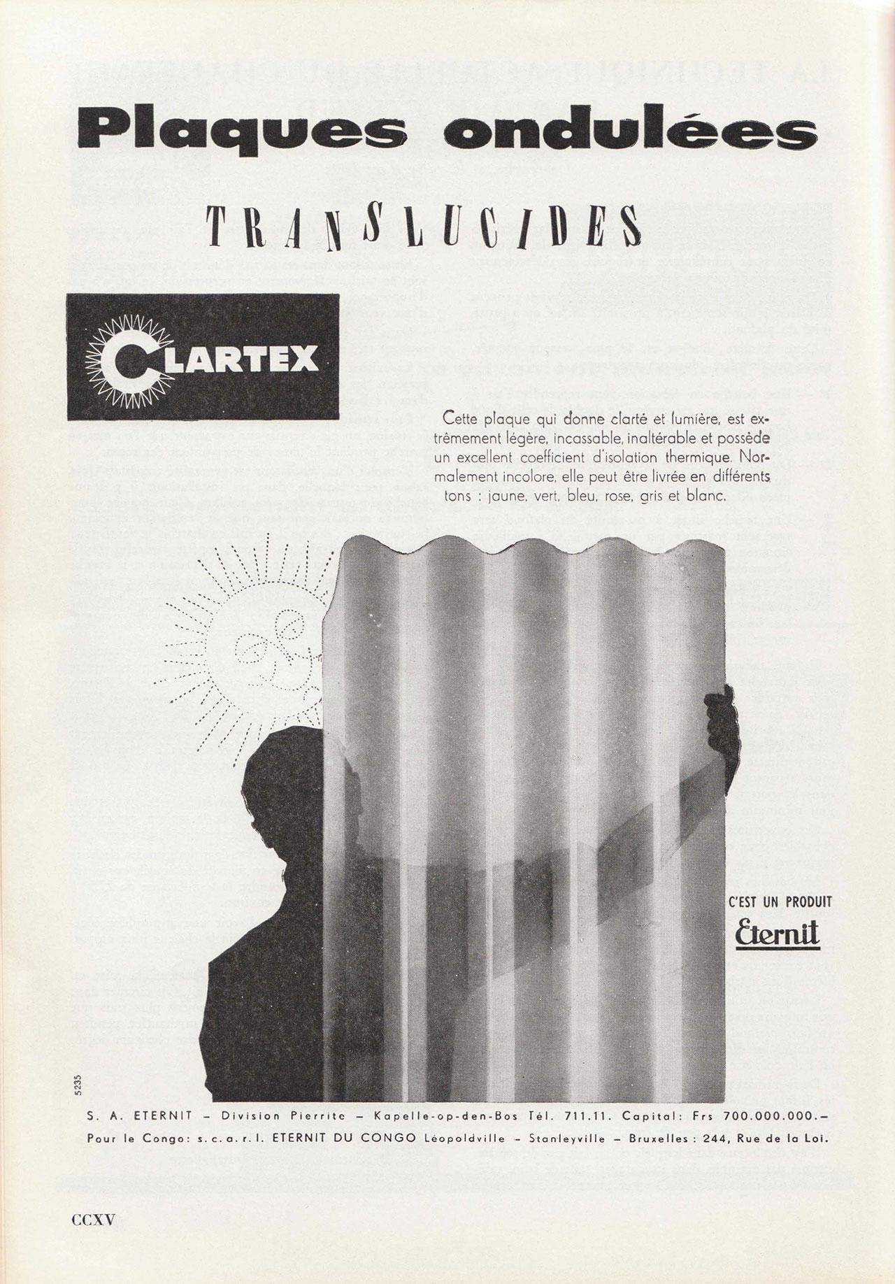 Plaques Ondulées Clartex
