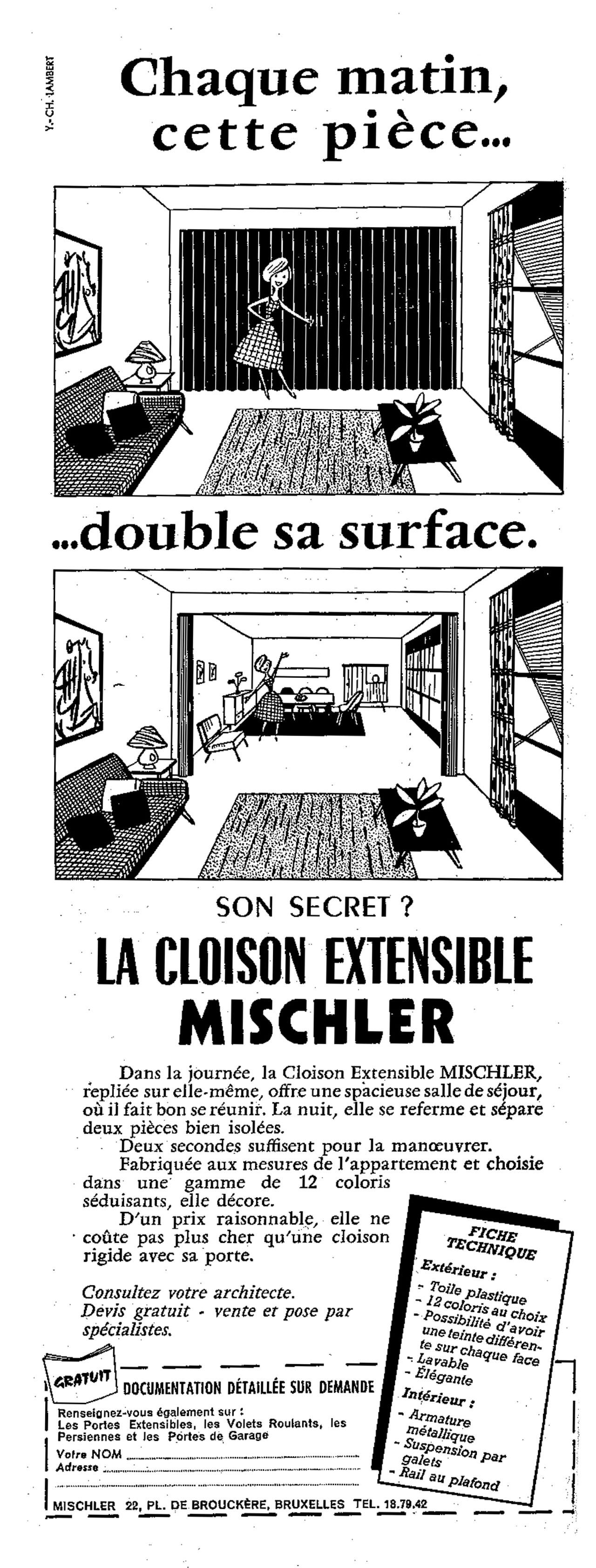 Cloison Extensible