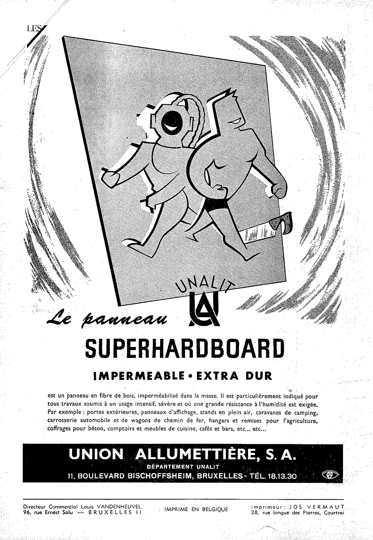 Unalit Panneau Superhardboard