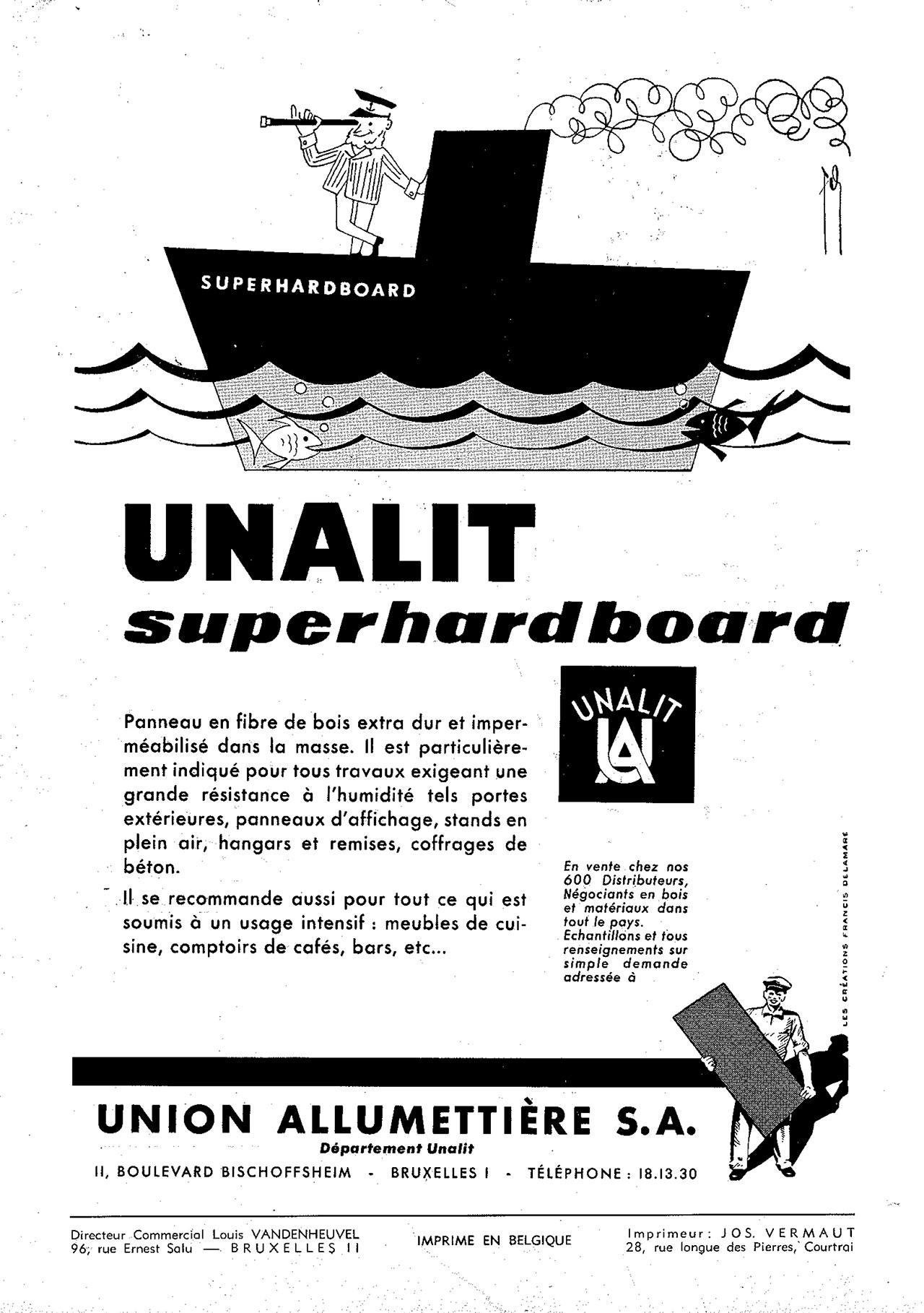 Unalit Superhardboard