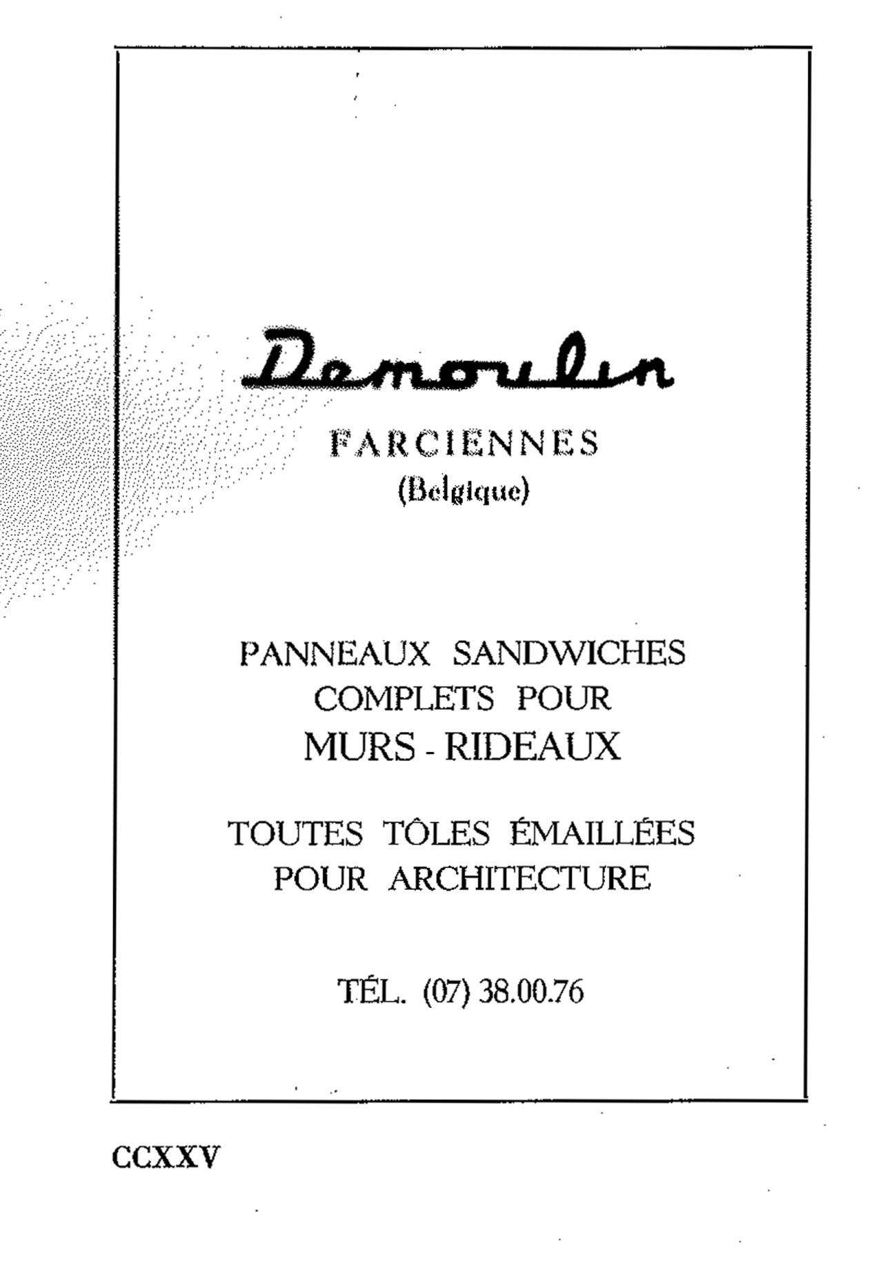 Panneaux Sandwich Pour Murs-Rideaux