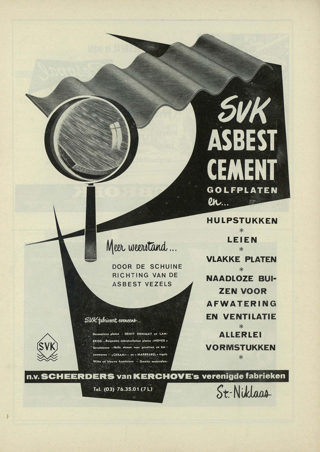 Asbest Cement Golfplaten