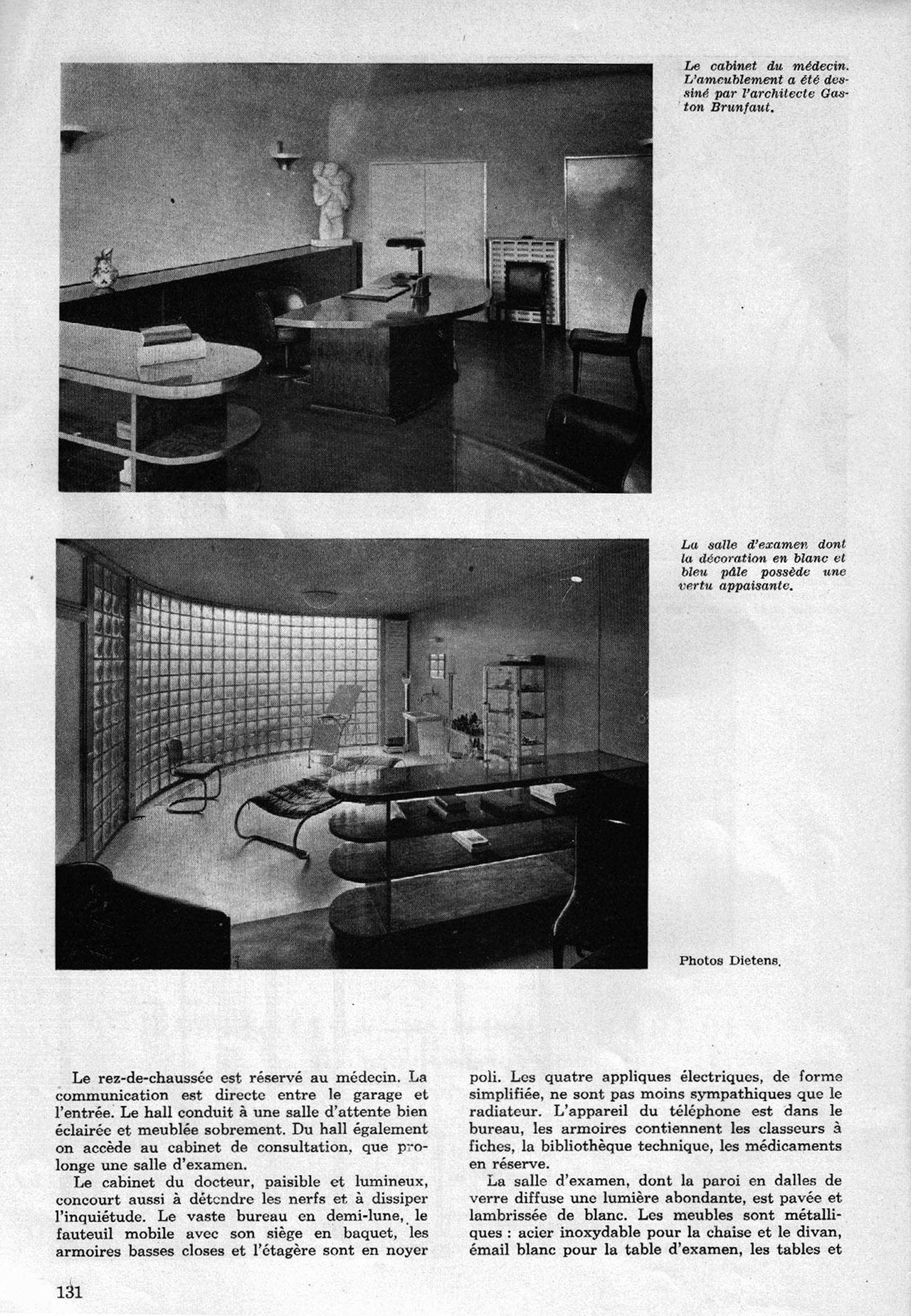 Habitation pour un médecin