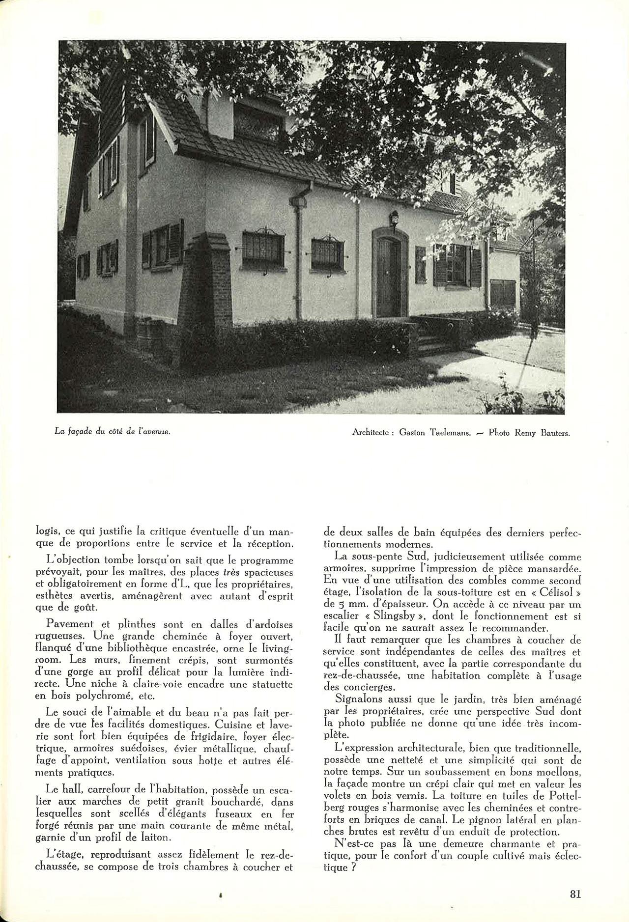 Villa à Uccle-lez-Bruxelles