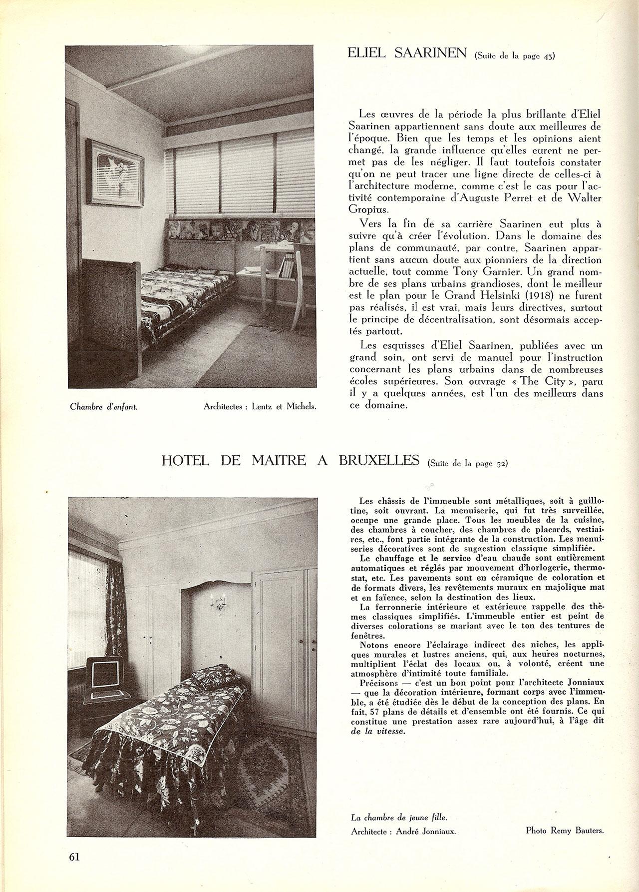 Petit hôtel de maître à Bruxelles