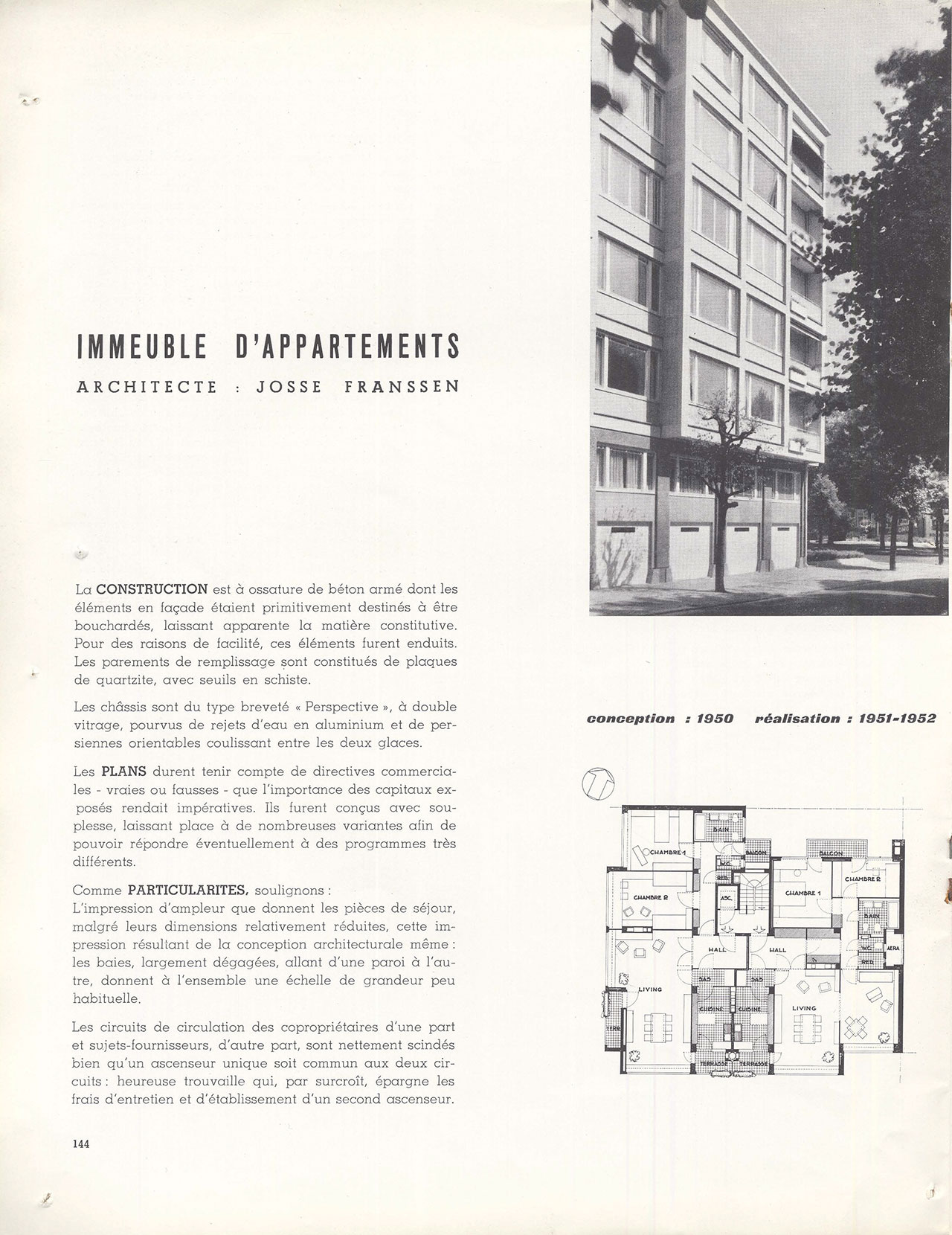 Immeuble d'appartements