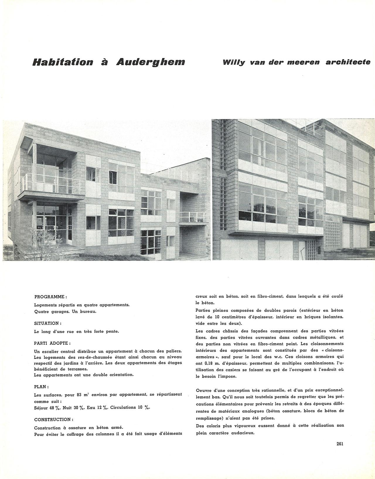Habitation à Auderghem
