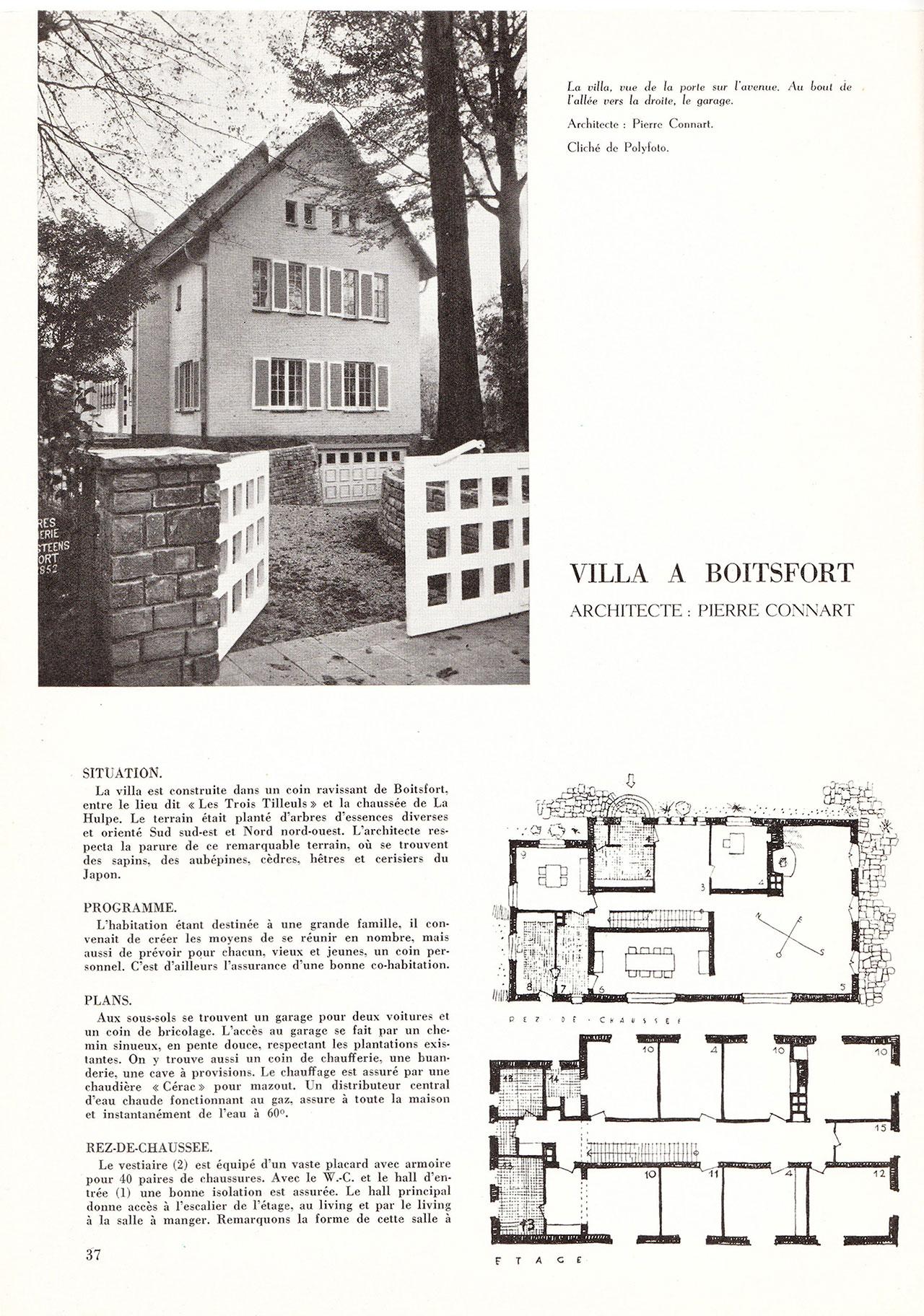 Villa à Boitsfort