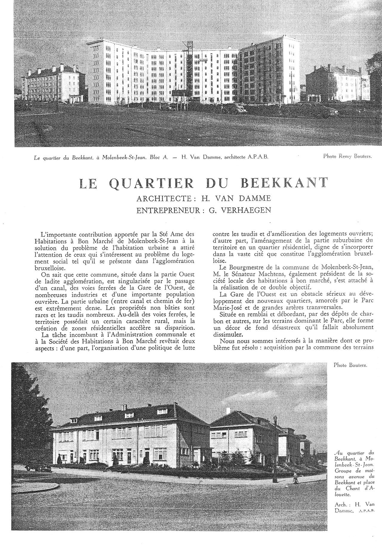 Le quartier du Beekkant