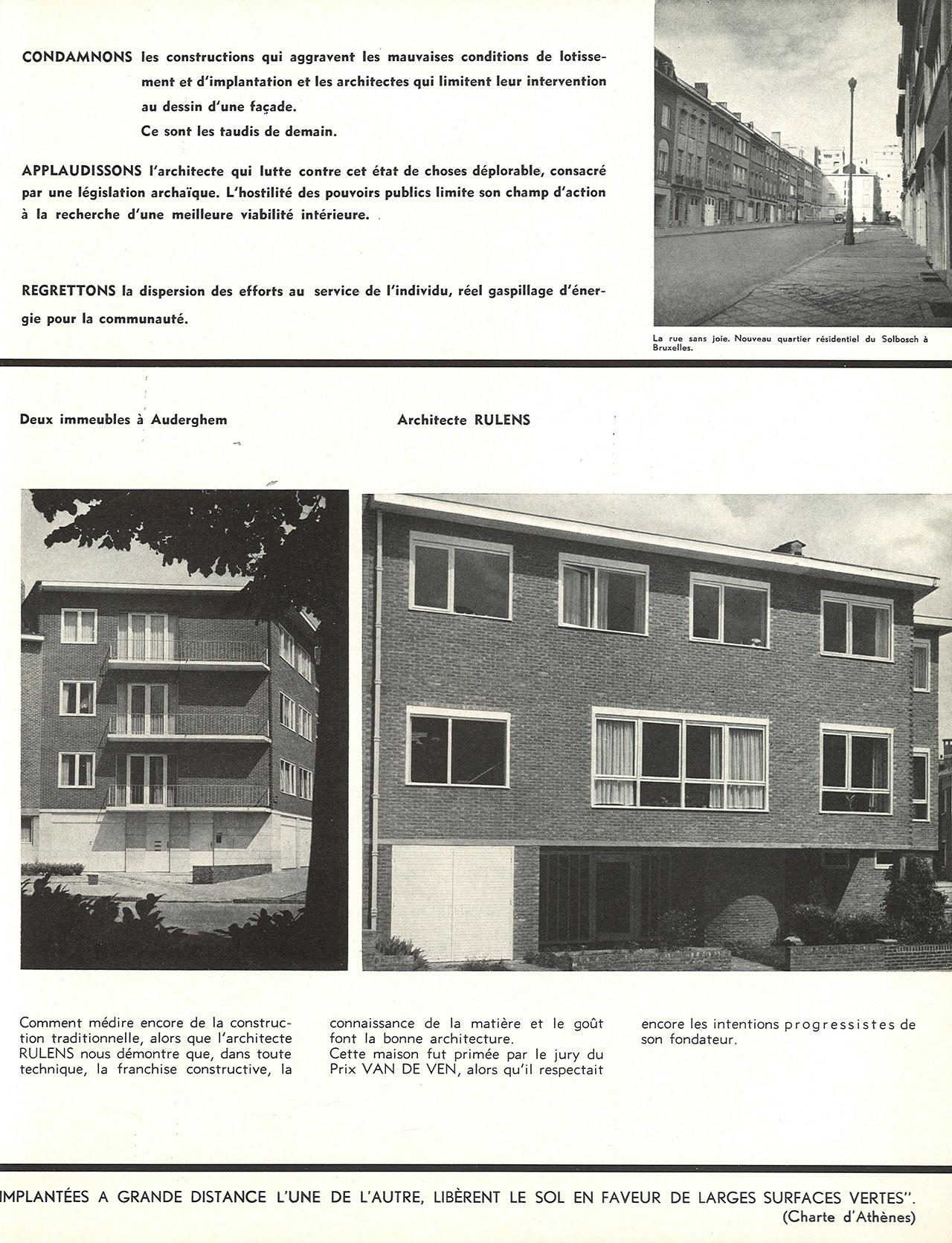 Deux immeubles à Auderghem