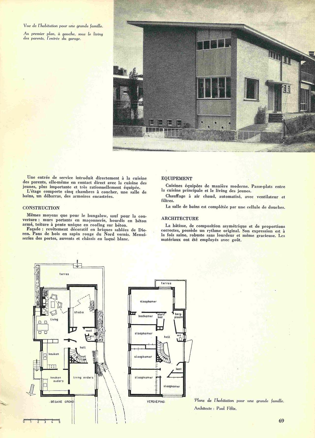 Habitation pour une grande famille à Uccle