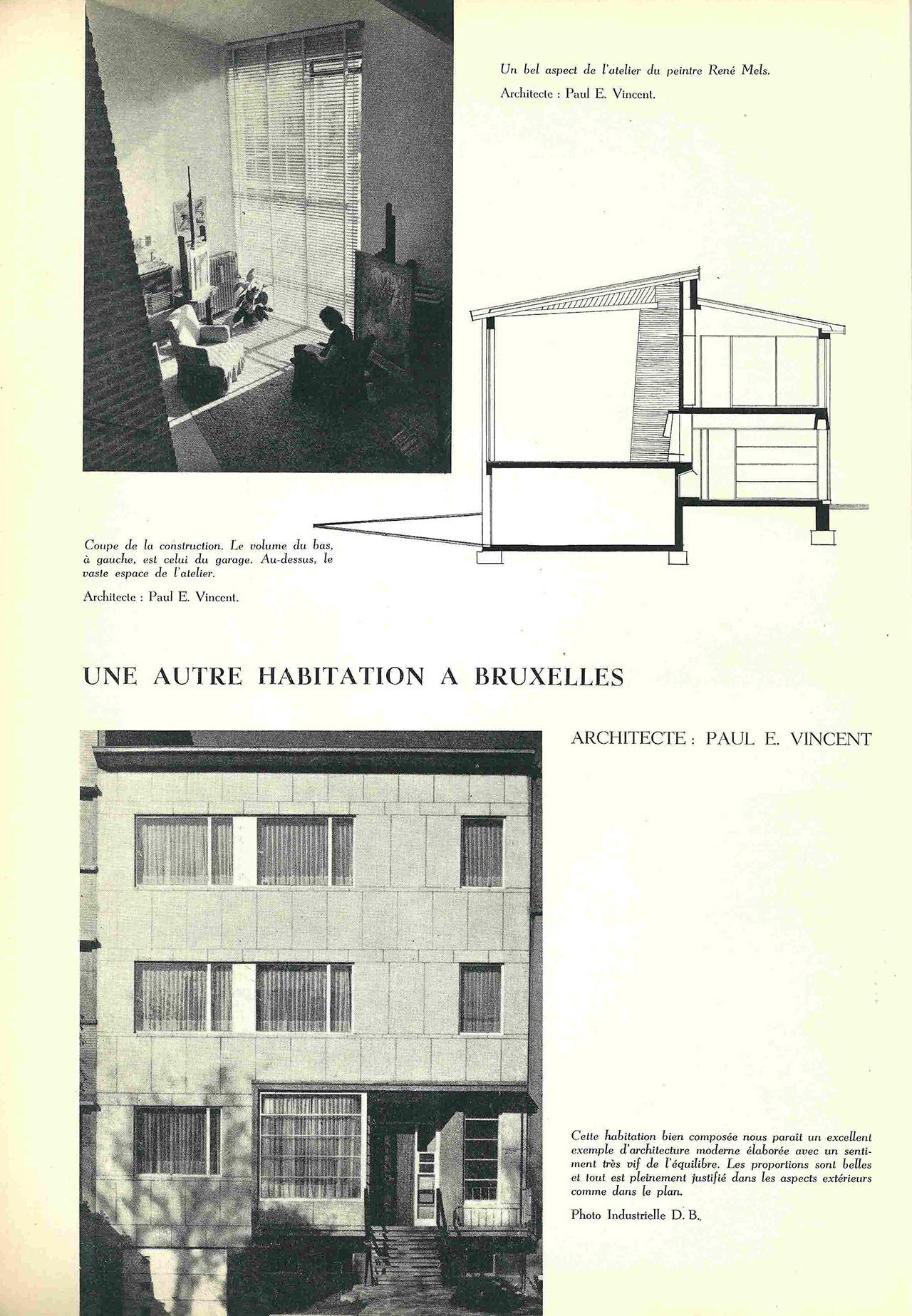 Une autre habitation à Bruxelles
