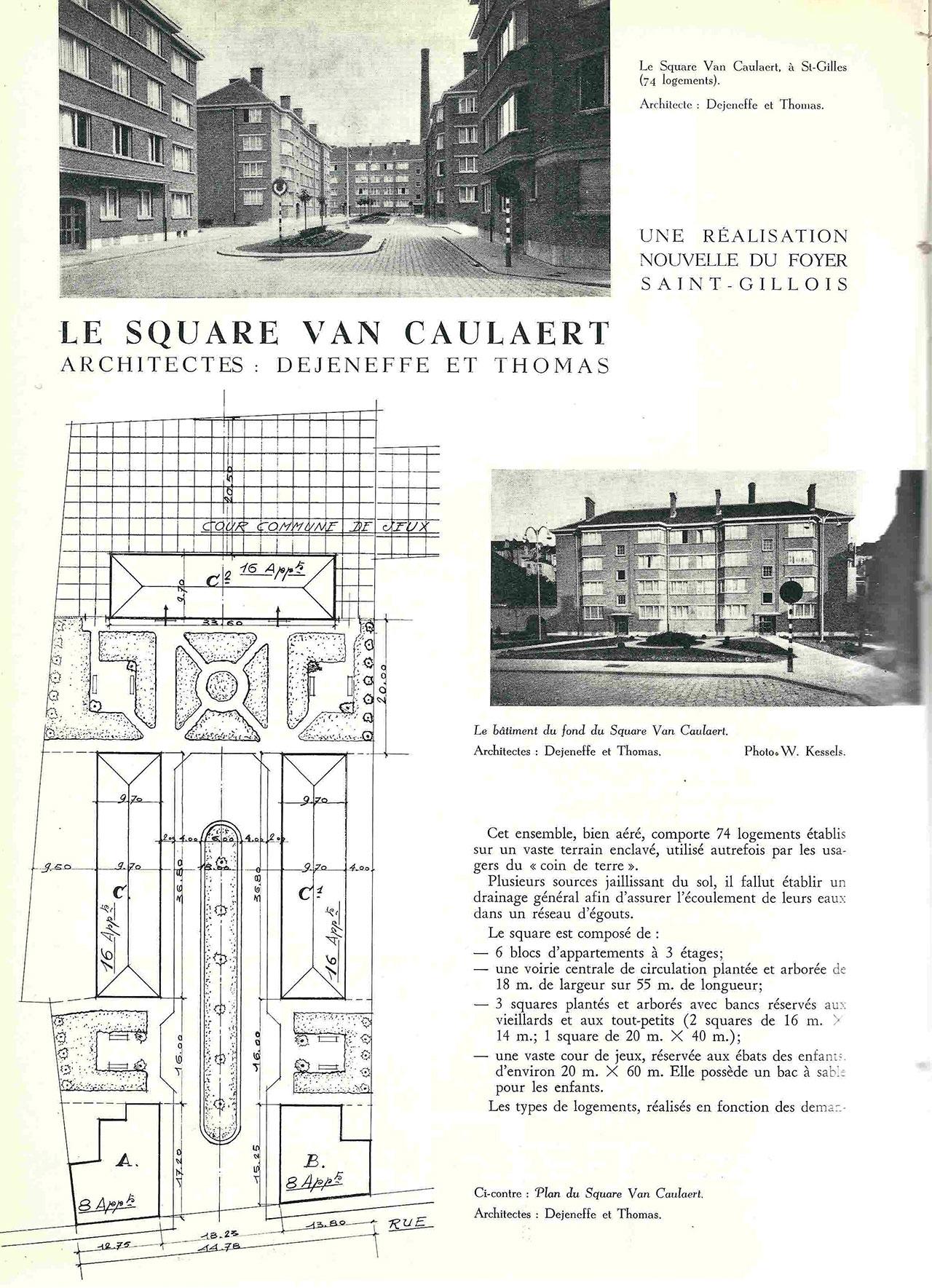 Le Square Van Caulaert