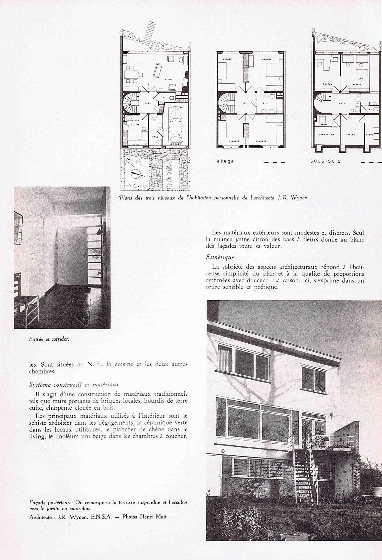 Maison d'un architecte, à Uccle
