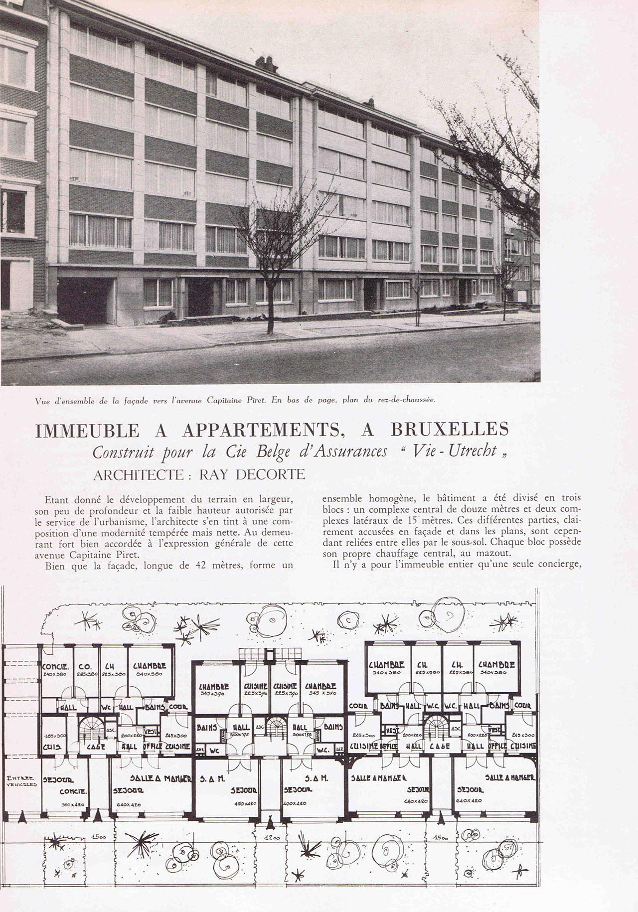 Immeuble à appartements à Bruxelles
