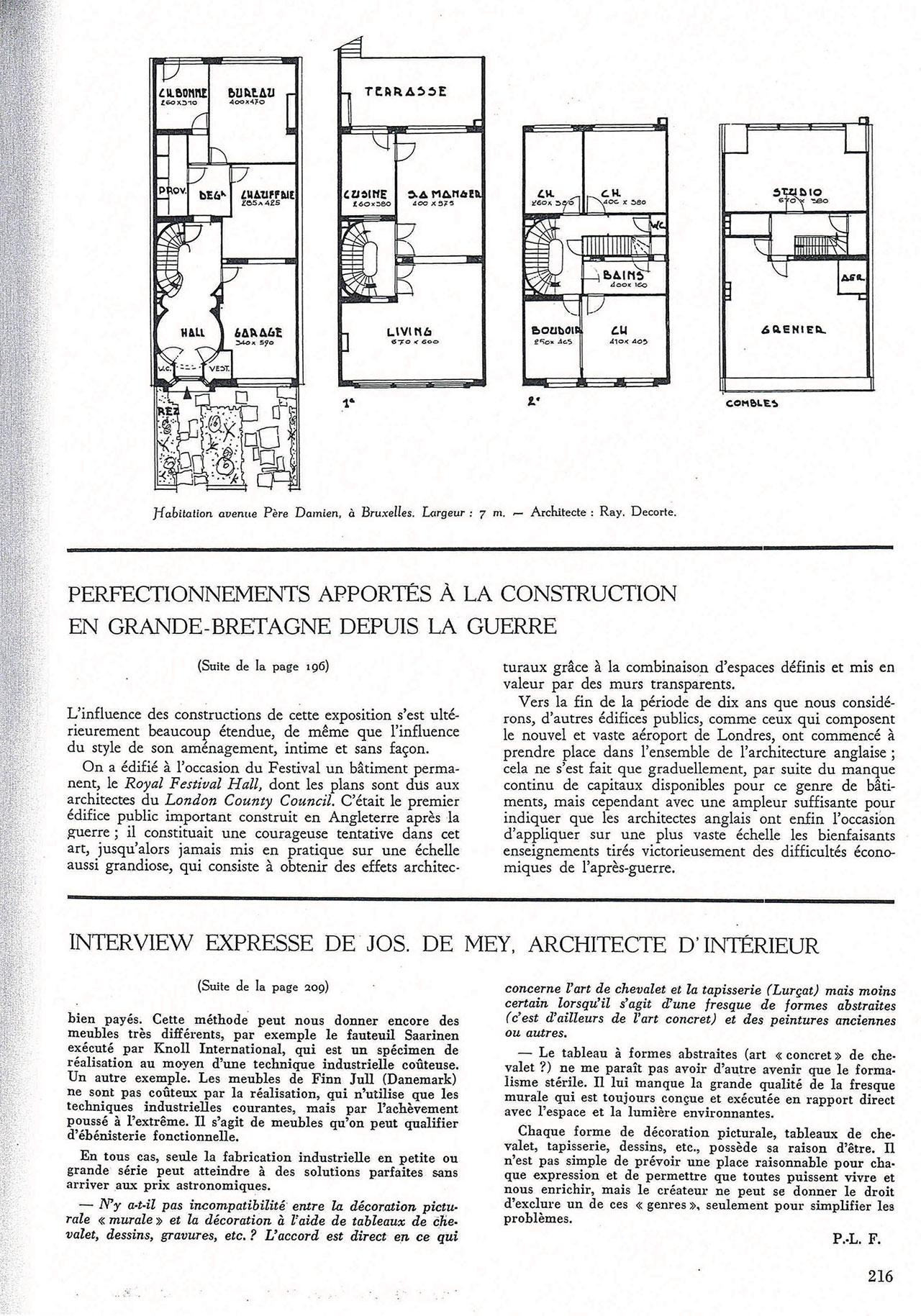Habitation à Woluwe-St-Pierre