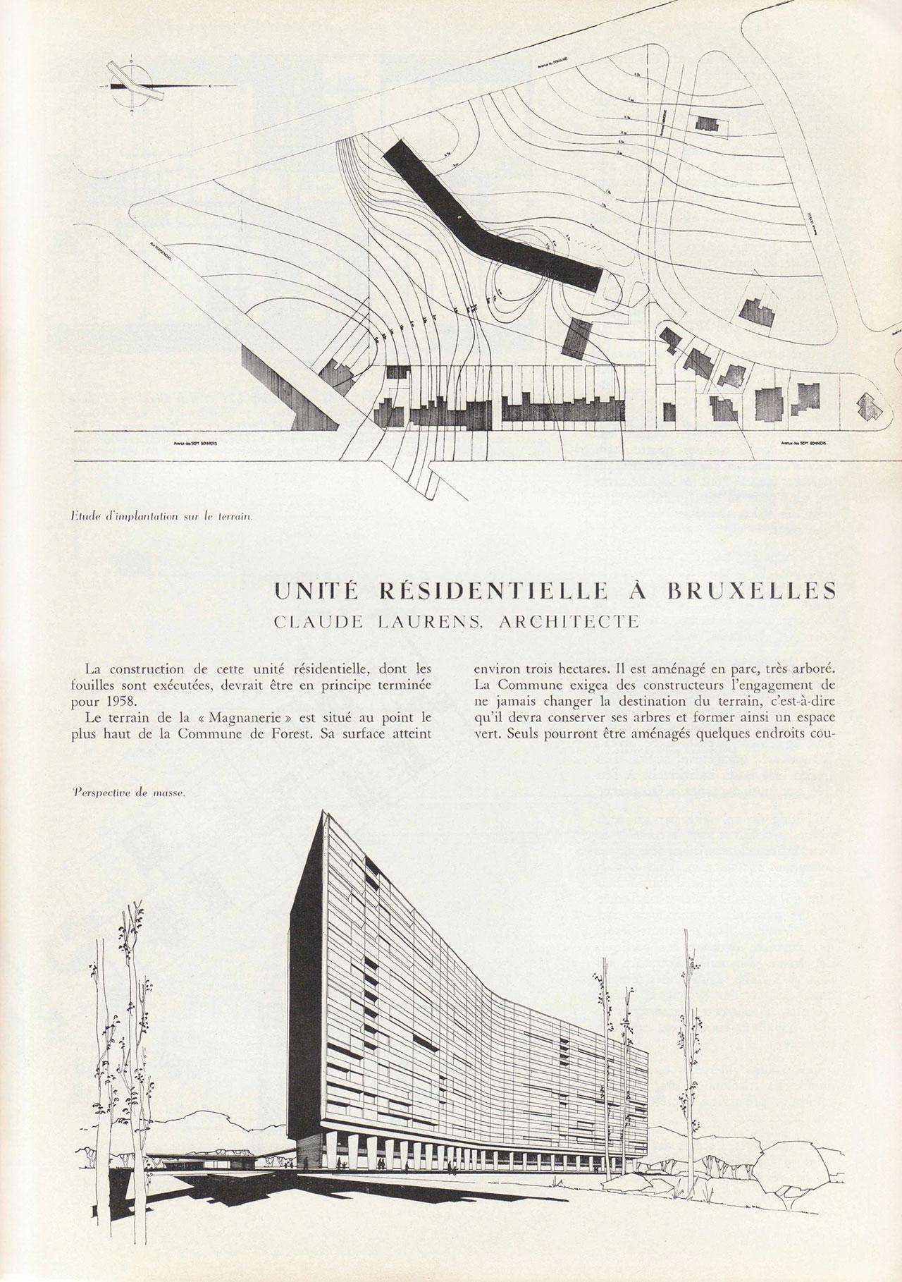 Unité résidentielle à Bruxelles