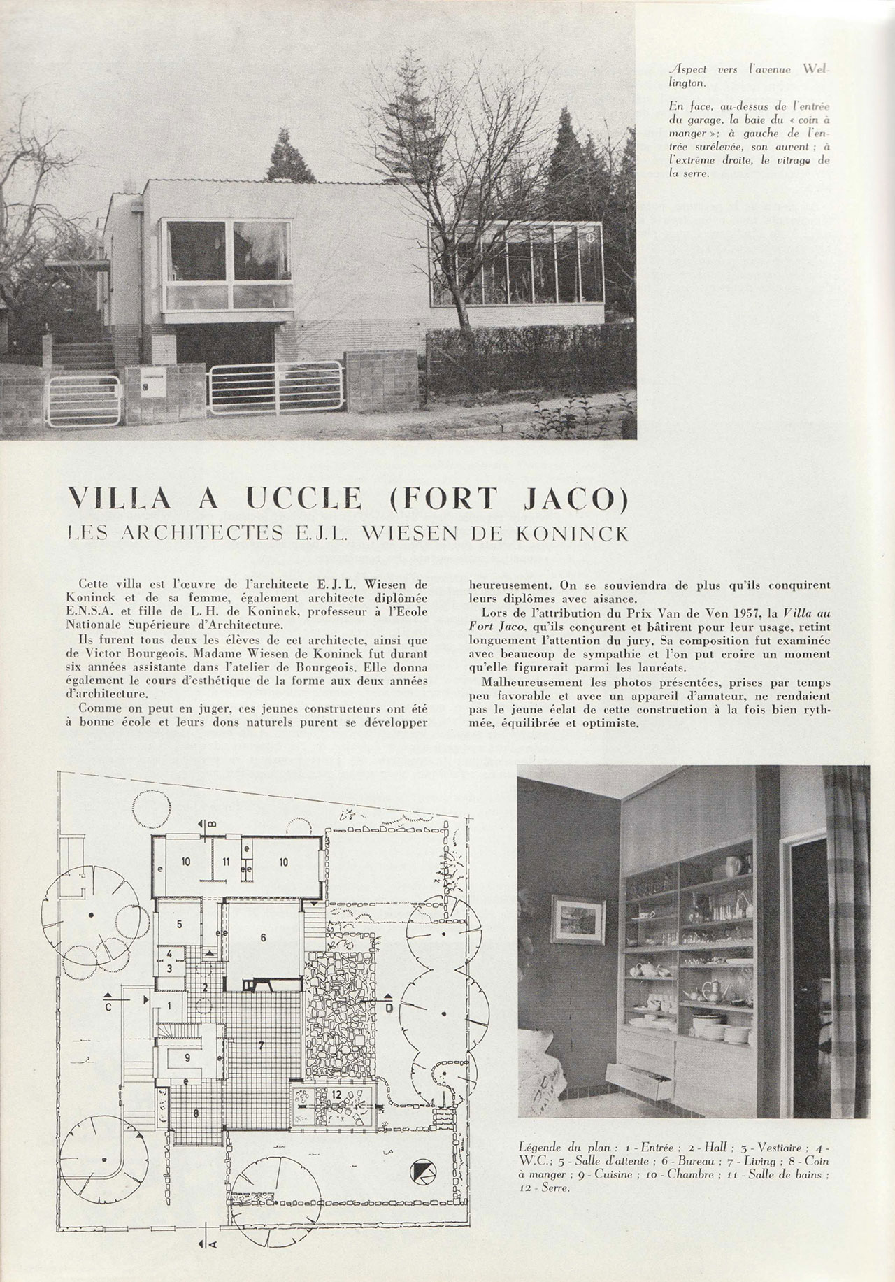 Villa à Uccle (Fort Jaco)