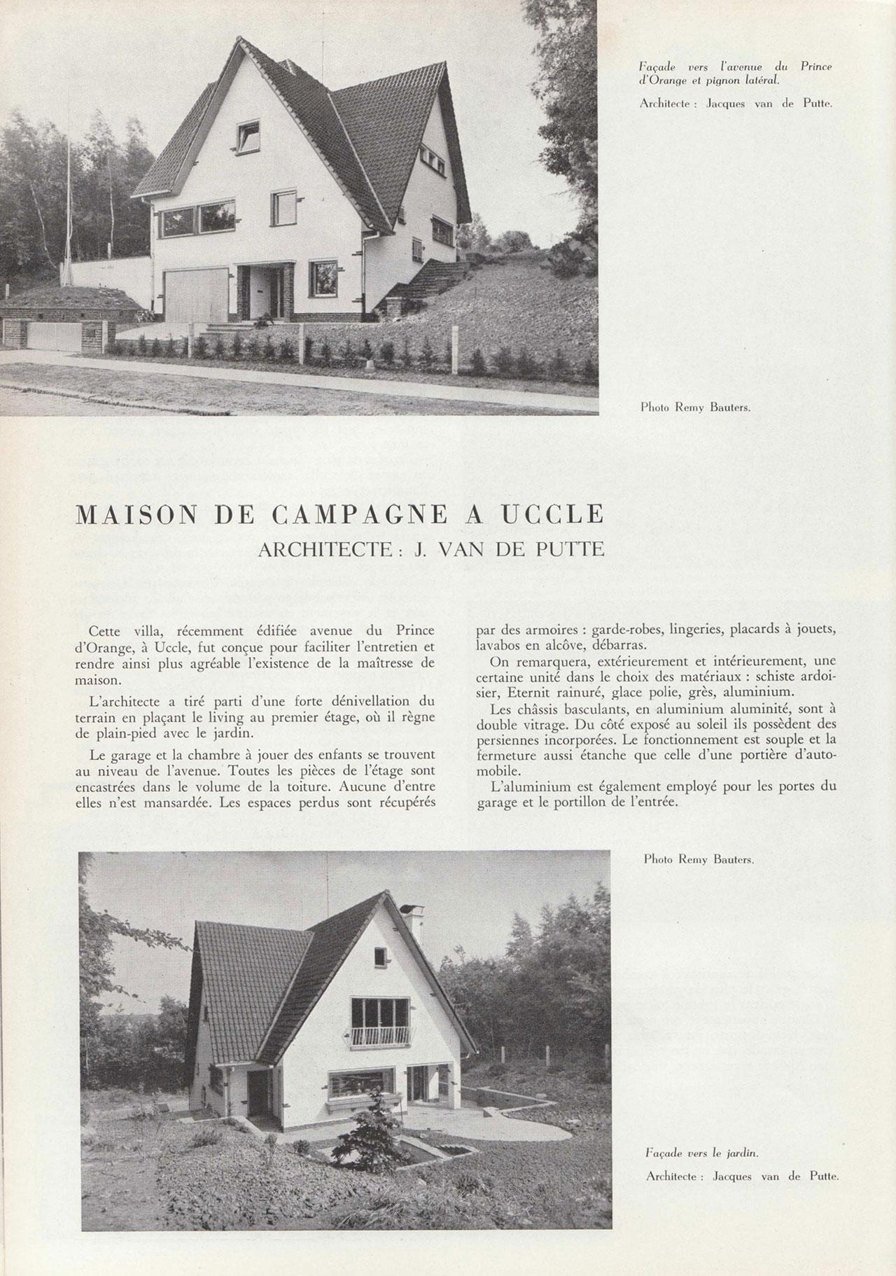 Maison de campagne à Uccle