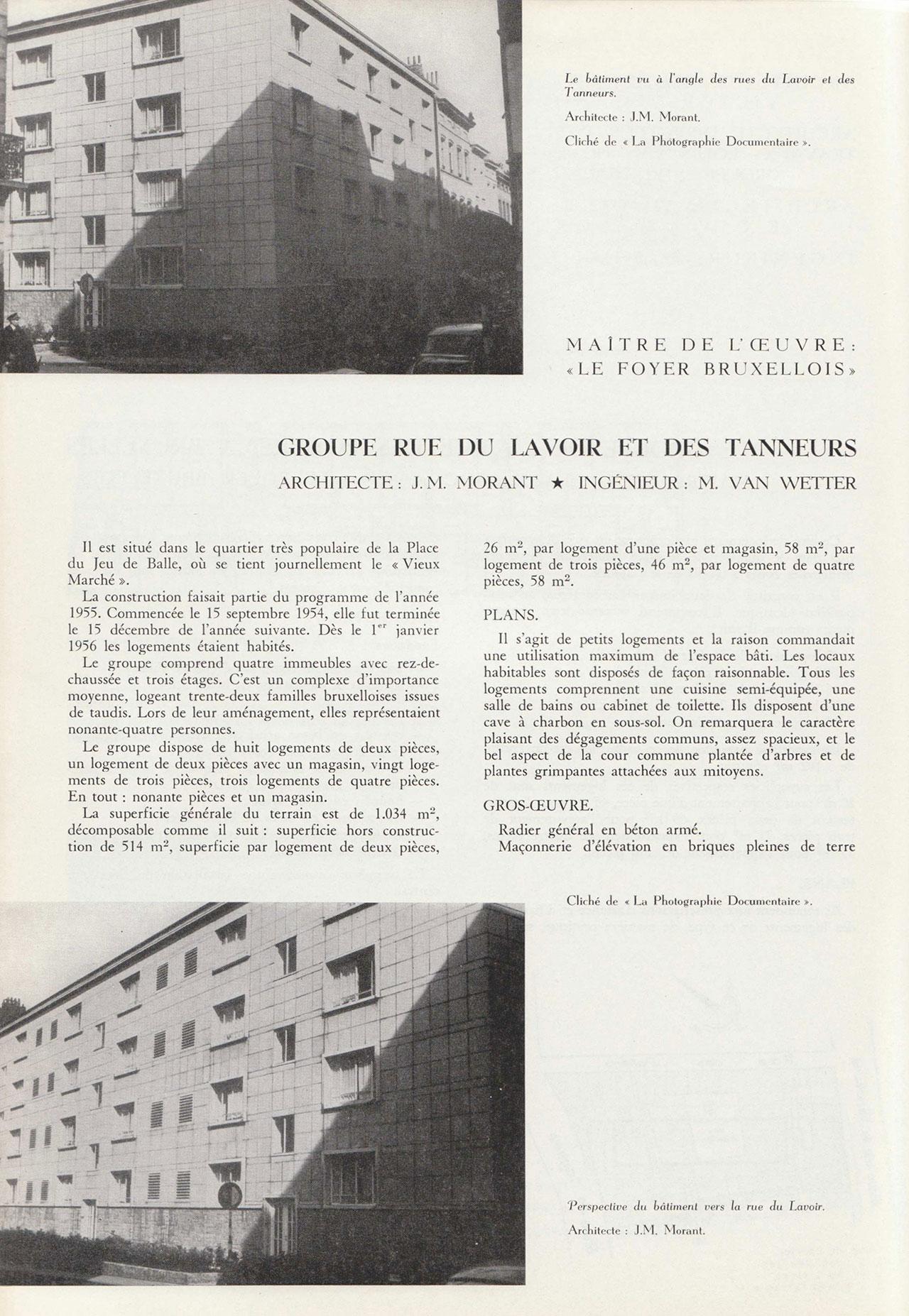 Groupe Rue du Lavoir et des tanneurs