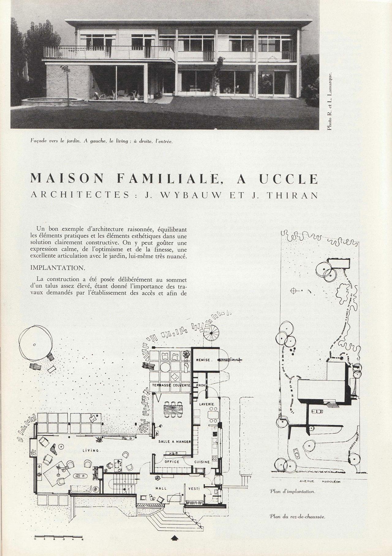 Maison familiale à Uccle