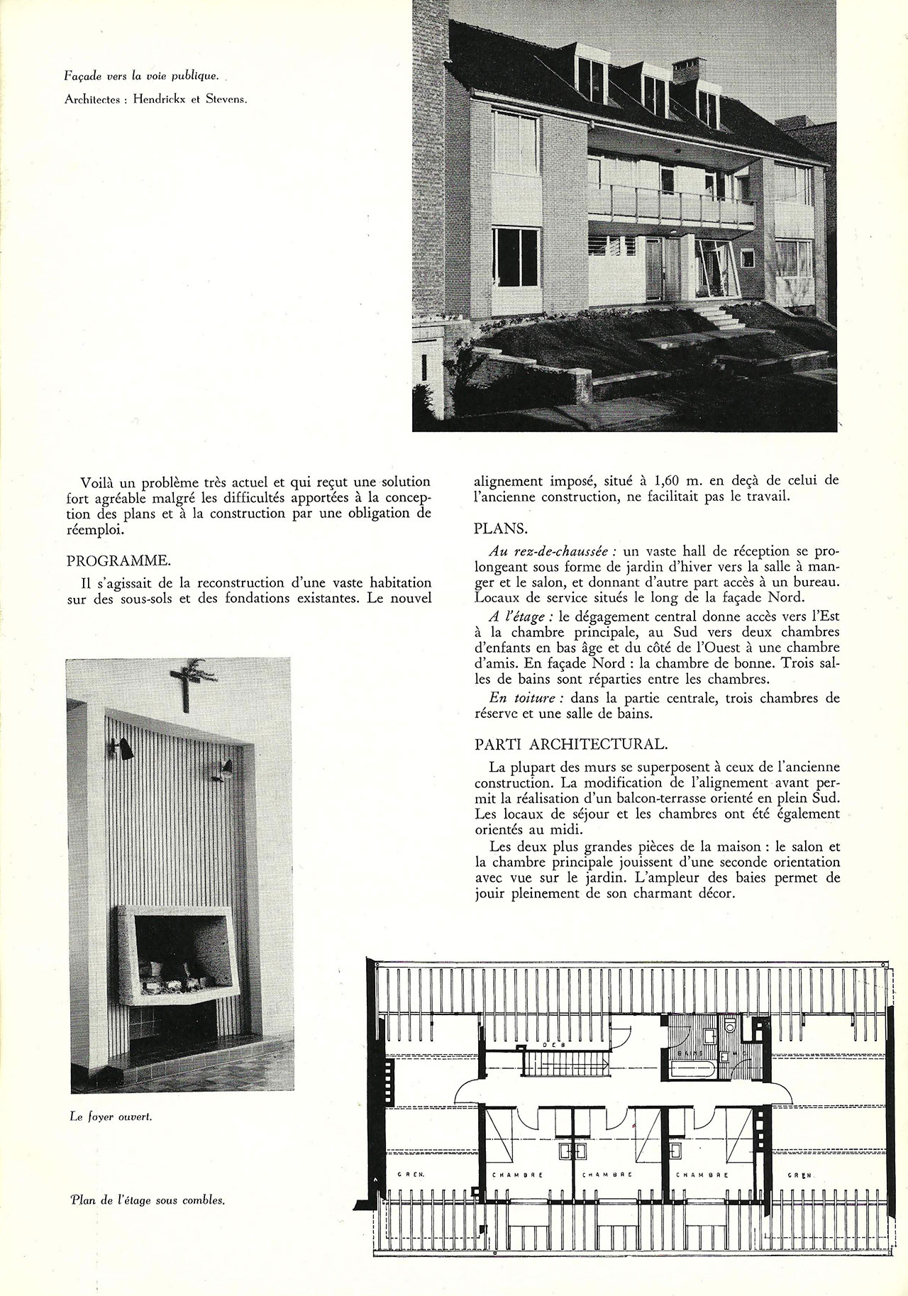 Habitation à Schaerbeek