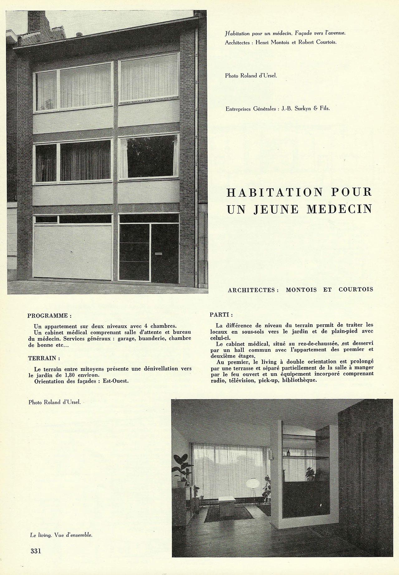 Habitation pour un jeune médecin
