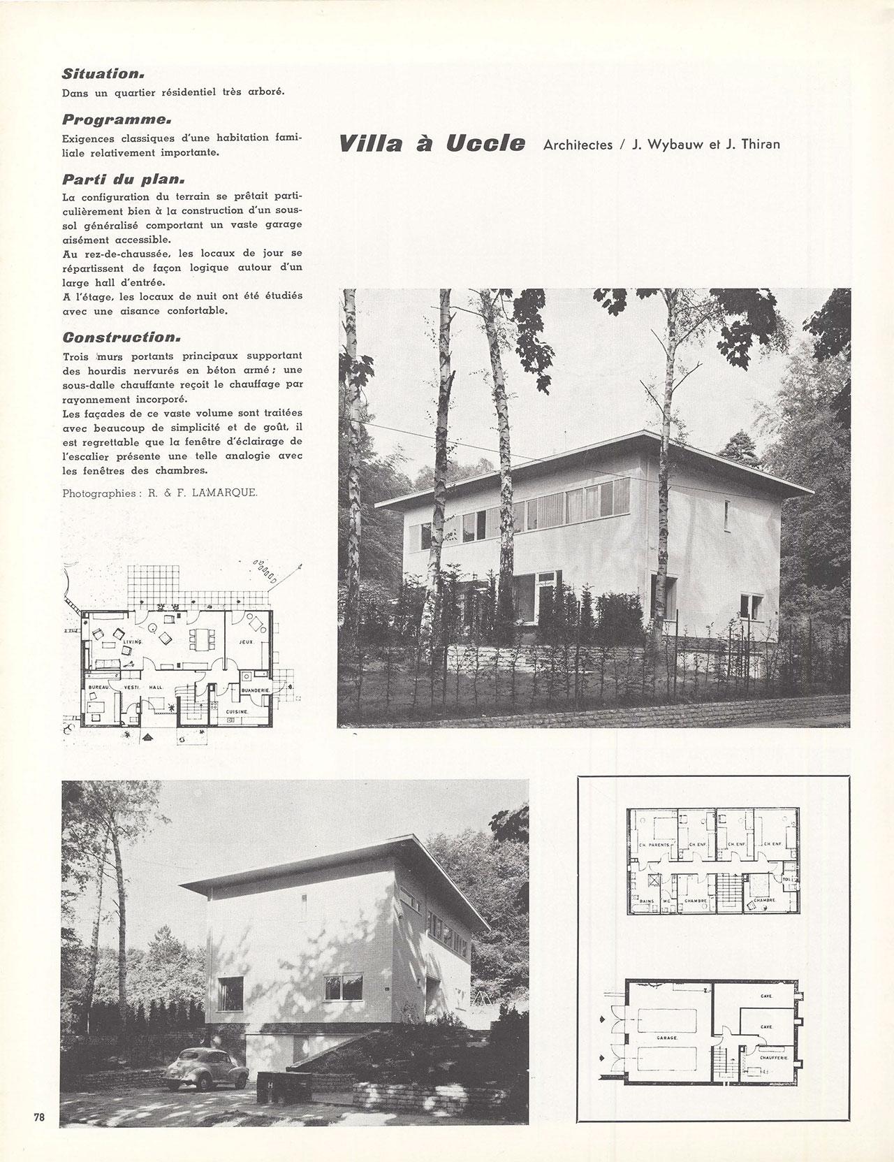 Villa à Uccle