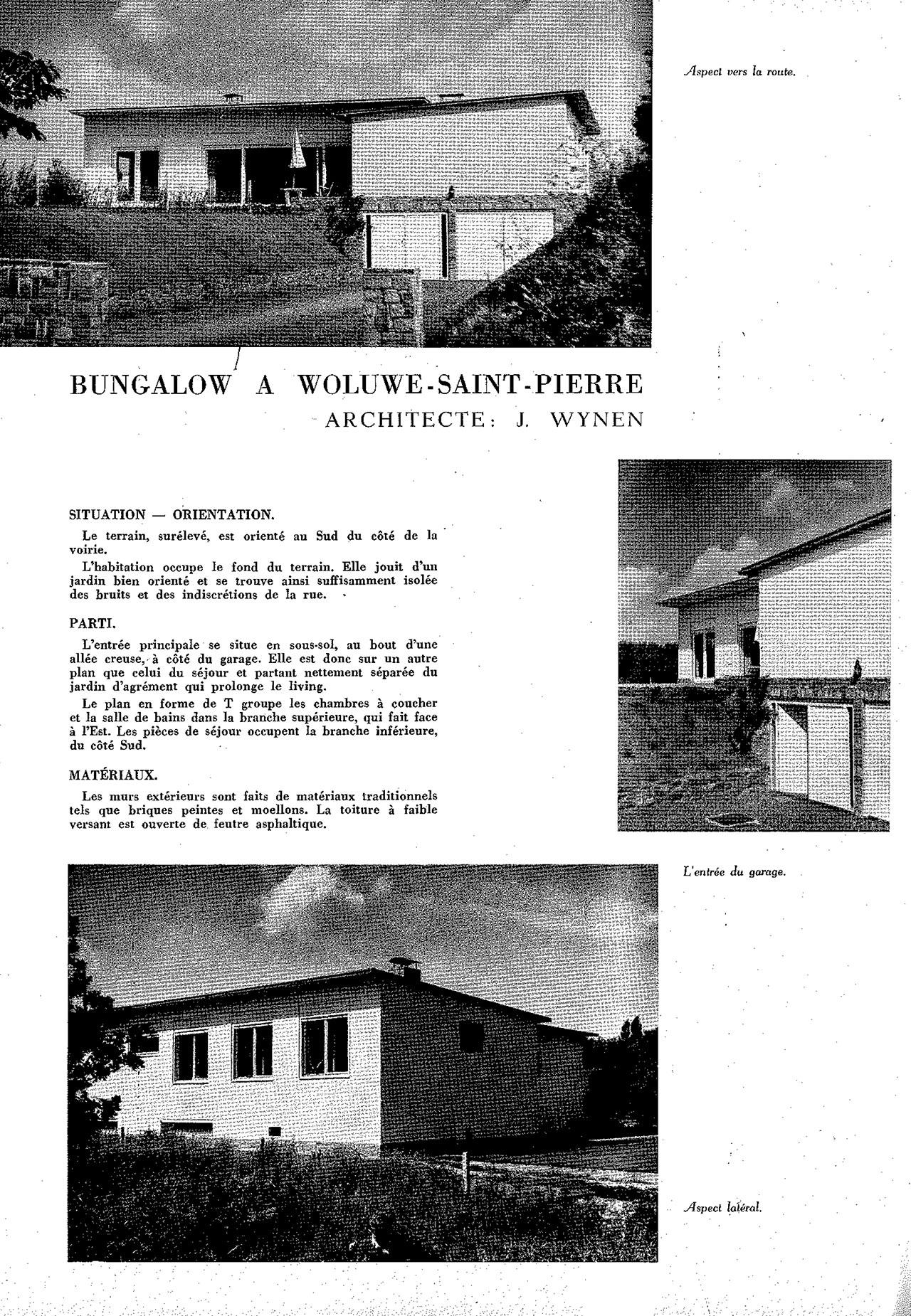 Bungalow à Woluwe-St-Pierre