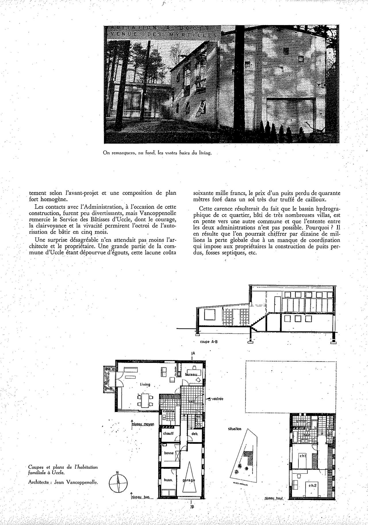 Habitation familiale à Uccle