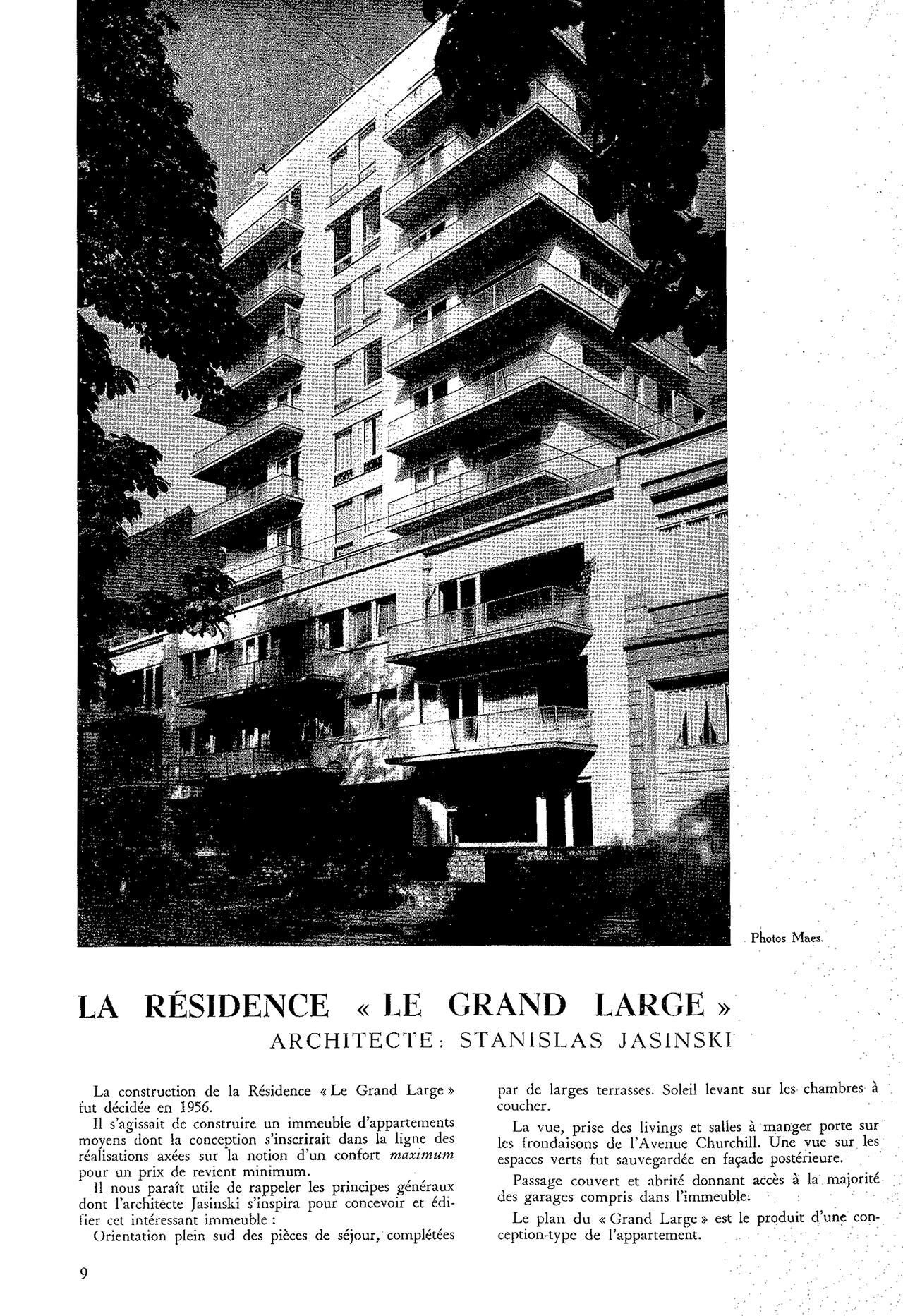 La résidence « Le Grand Large »